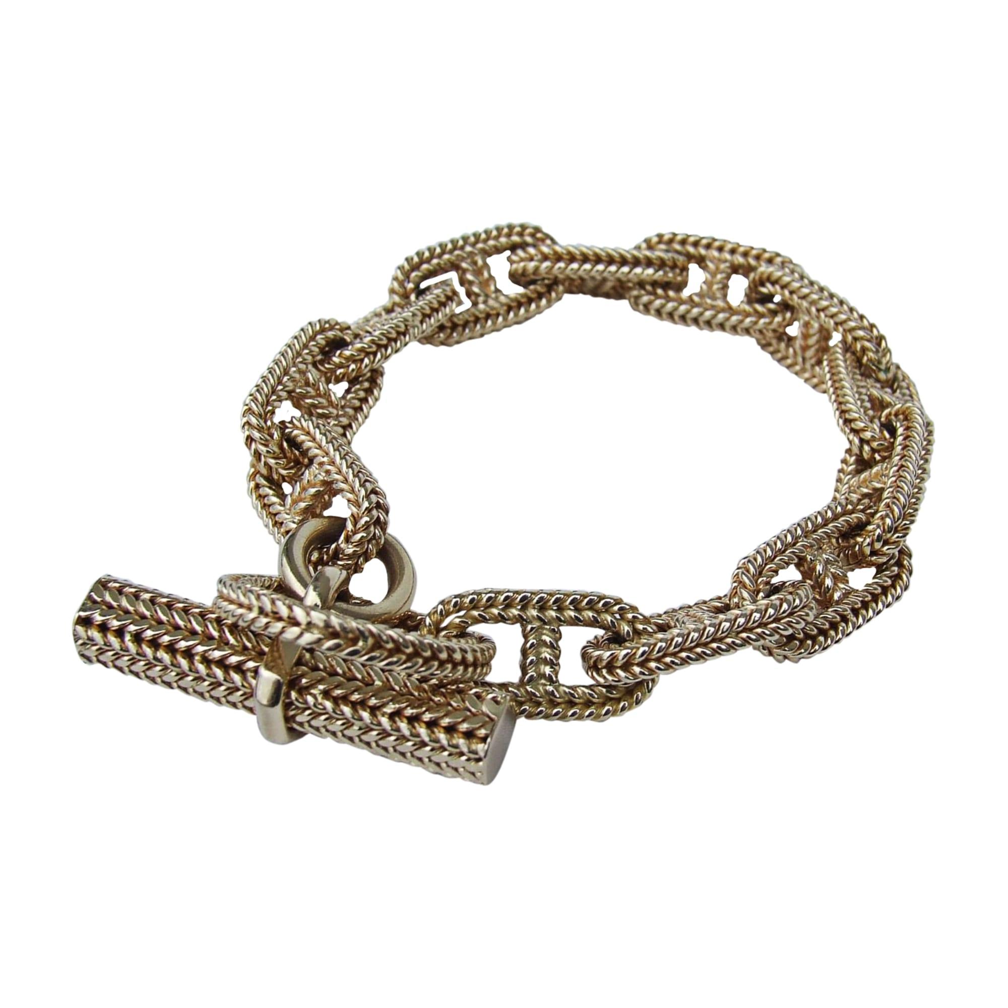 Bracelet HERMÈS chane dancre doré vendu par Bibi 2111916 - 7729127 14e712fef8d