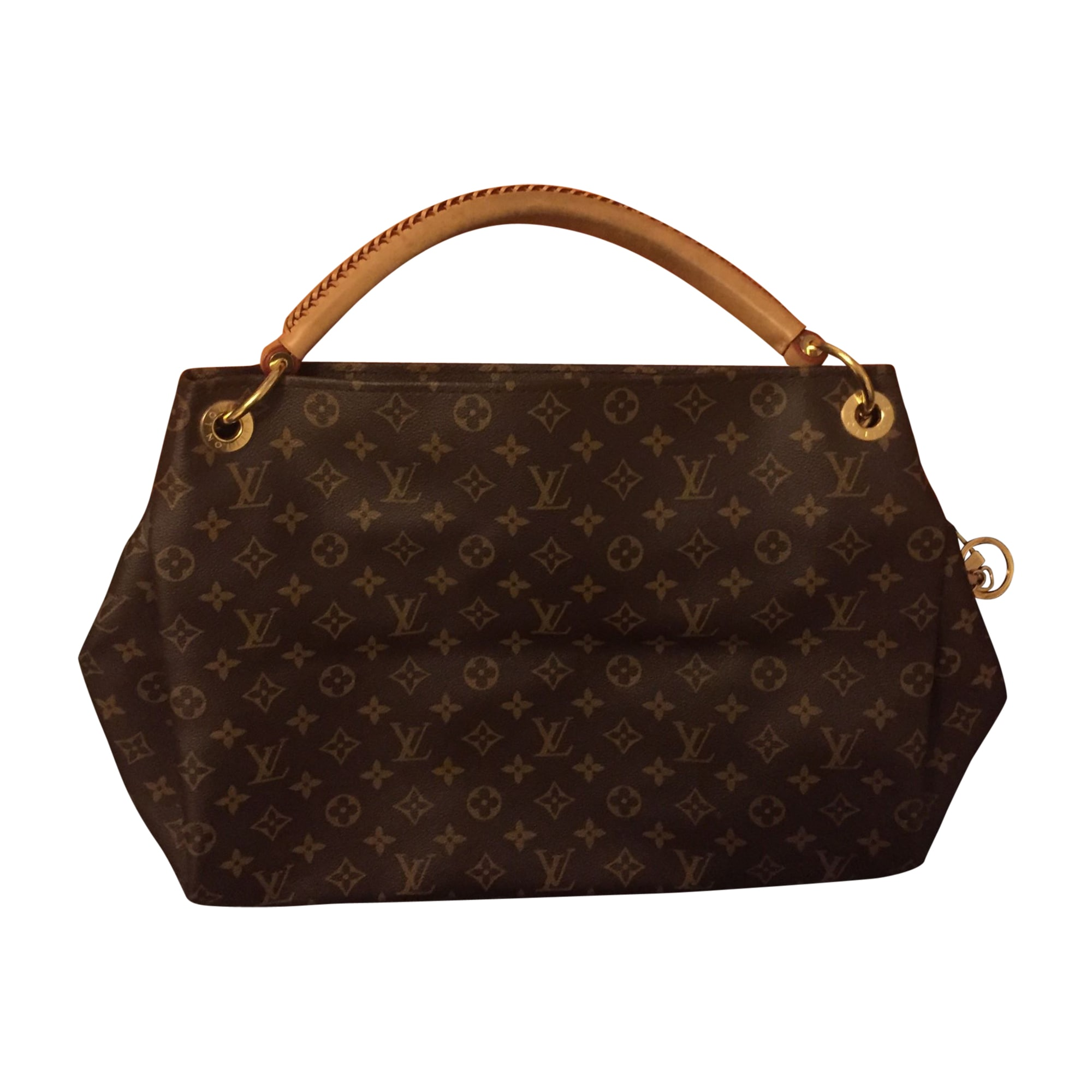 Sac à main en cuir LOUIS VUITTON artsy marron - 7730887 b986a0f7452