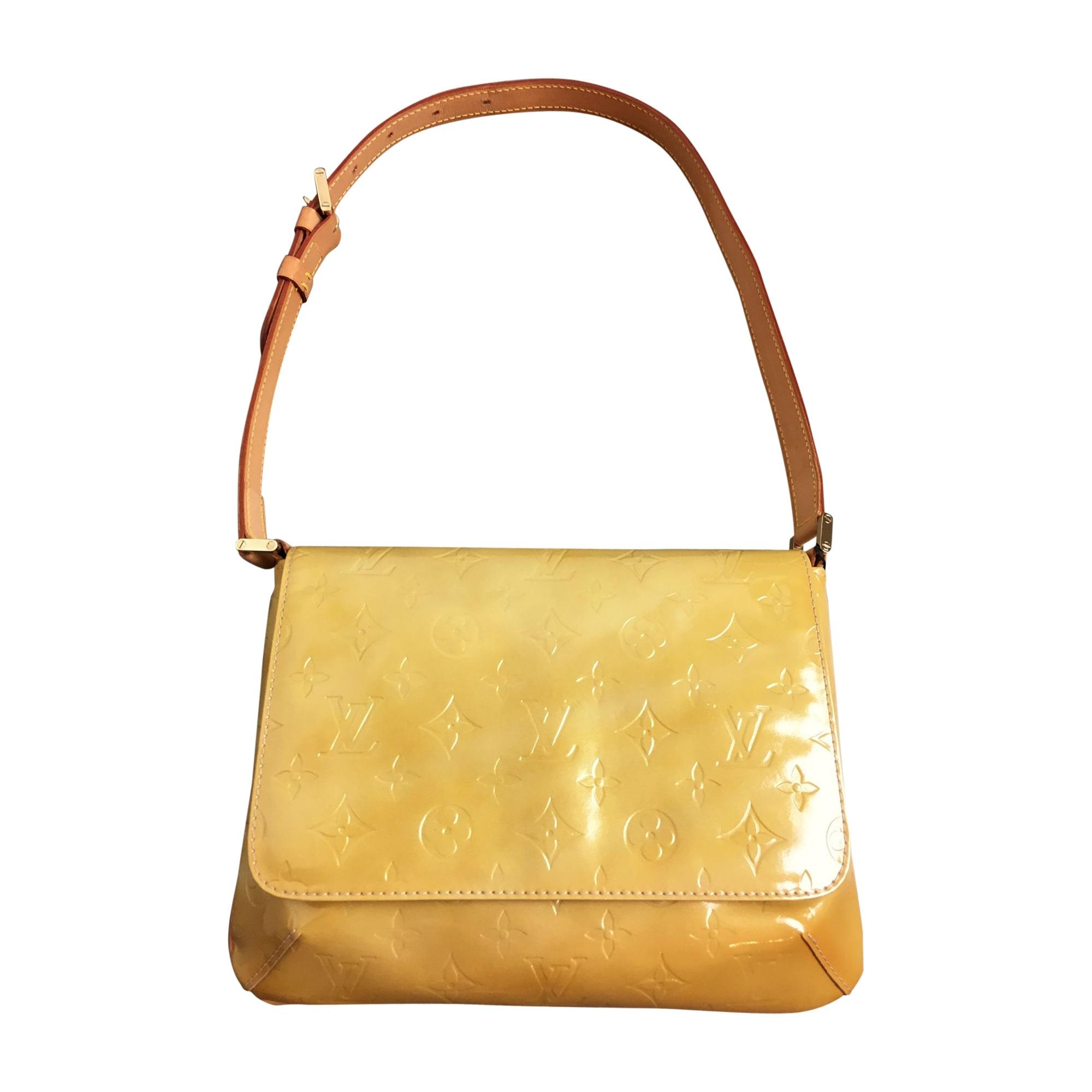 Sac en bandoulière en cuir LOUIS VUITTON jaune - 7736903 9171e5a02da