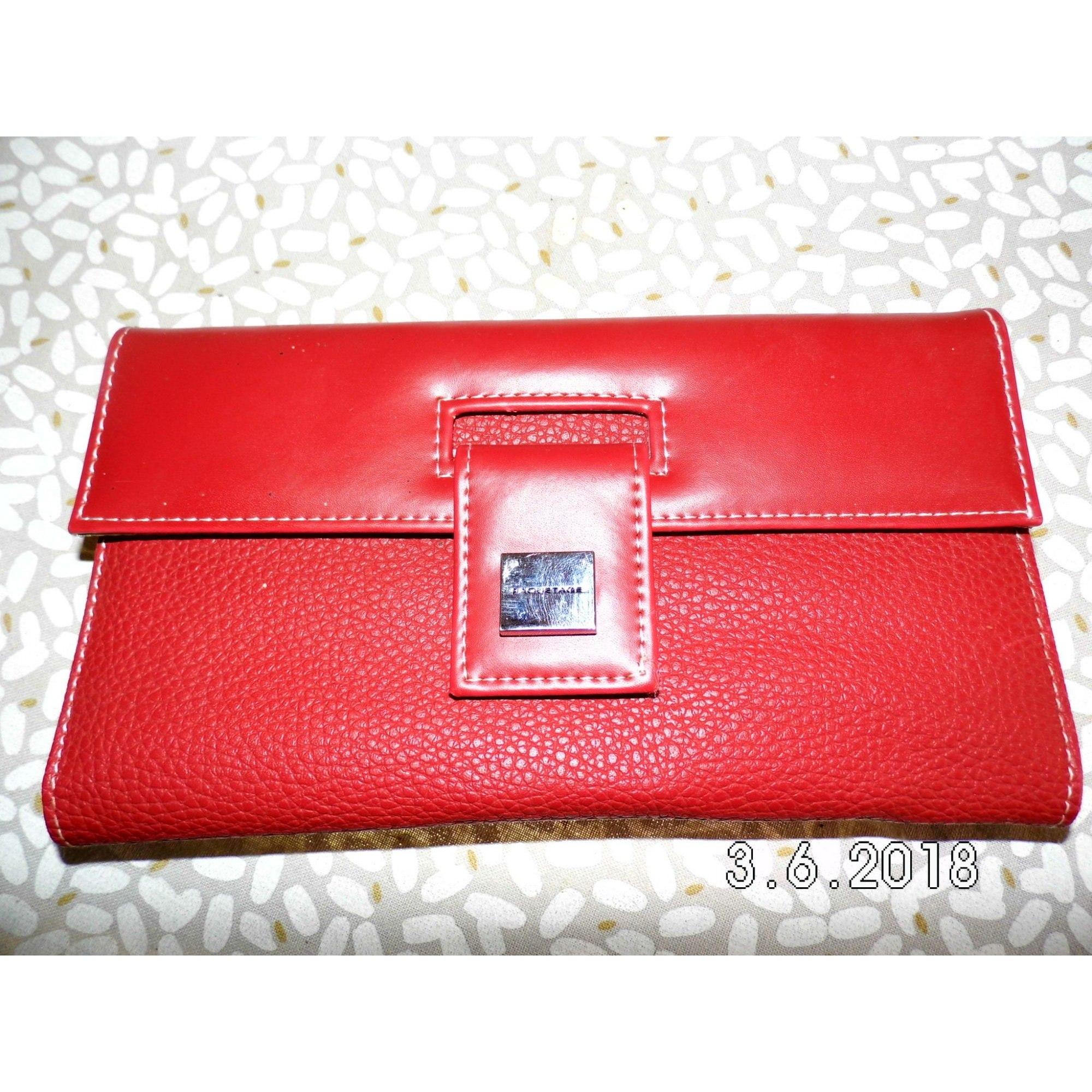 Porte-chéquier PAQUETAGE rouge vendu par Monik546296 - 7737010 87ccc3158a4