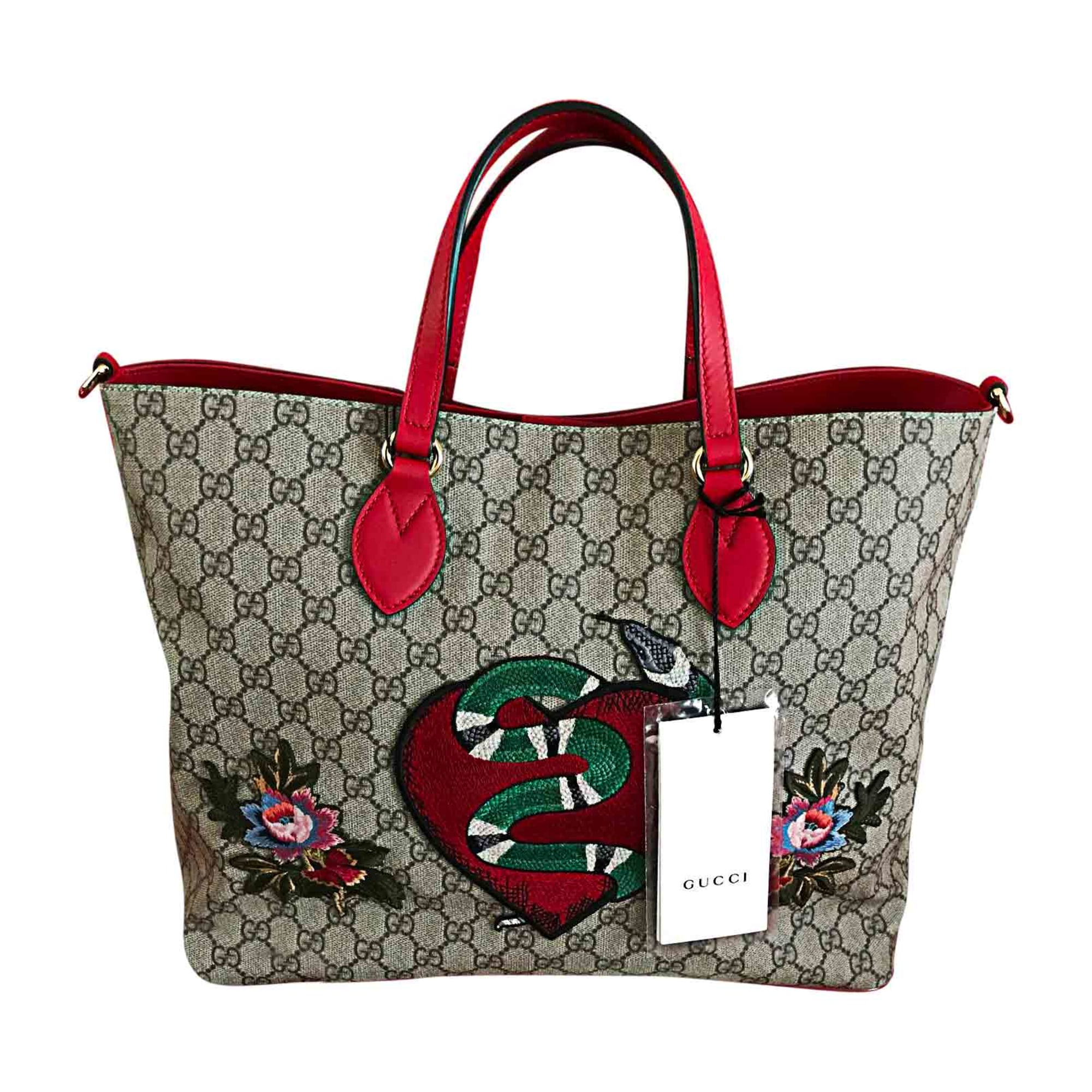 Non-Leather Oversize Bag GUCCI Multicolor