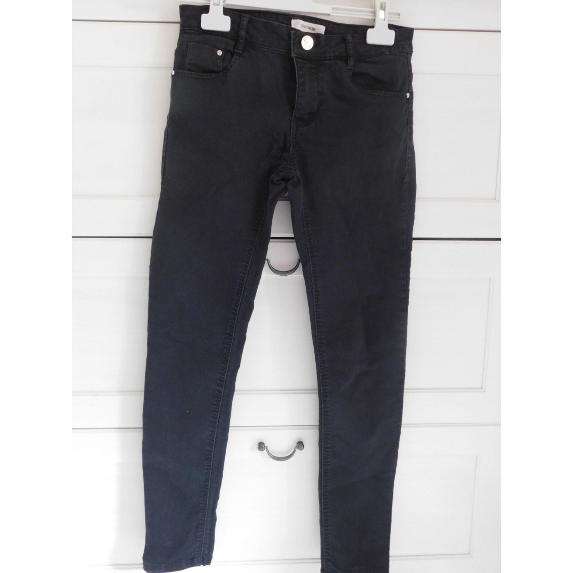 b2421c9ab0f5 Jeans slim PIMKIE W25 (T 34) noir - 7738825