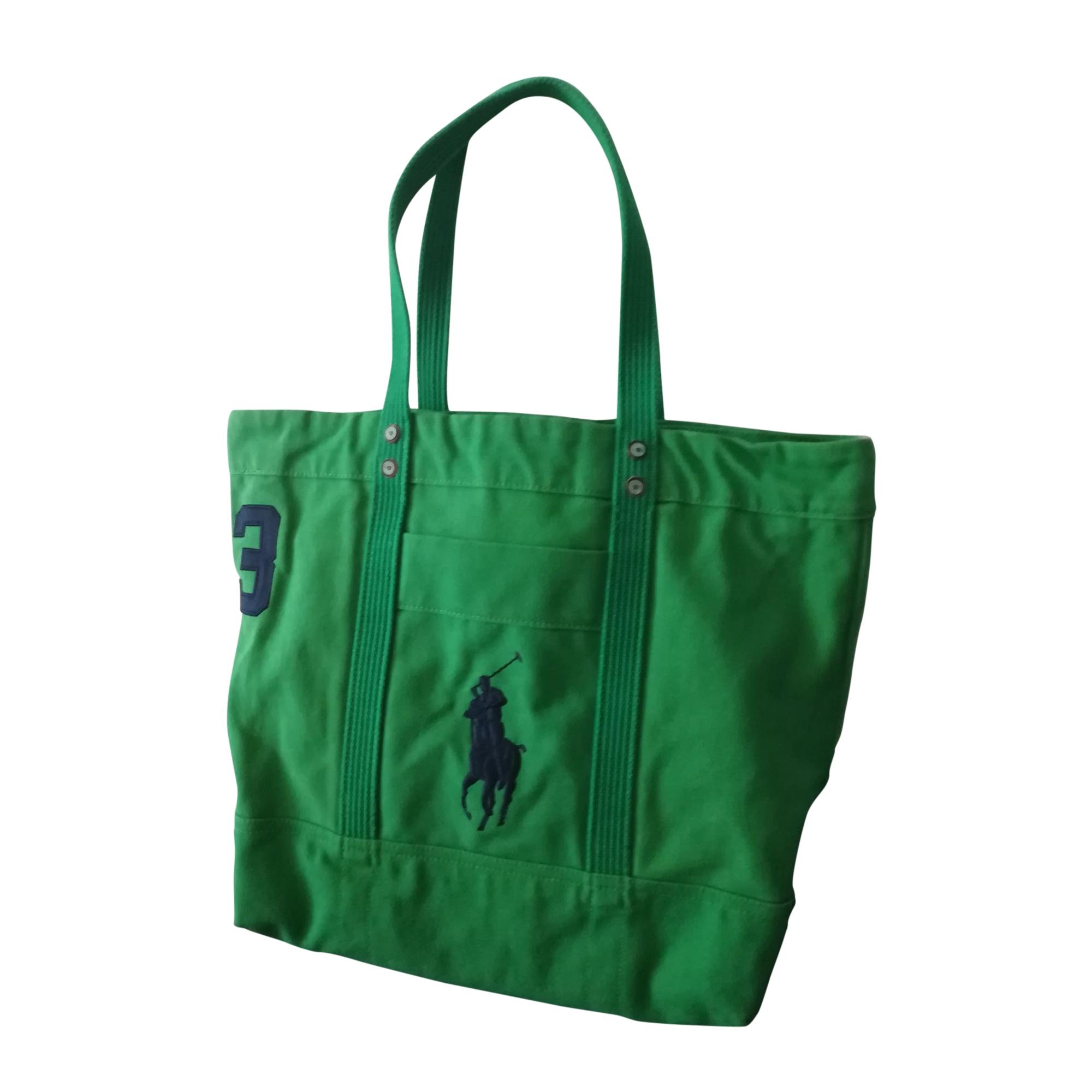 f68de6d1dafd Non-Leather Oversize Bag RALPH LAUREN green vendu par Celine 7245 ...