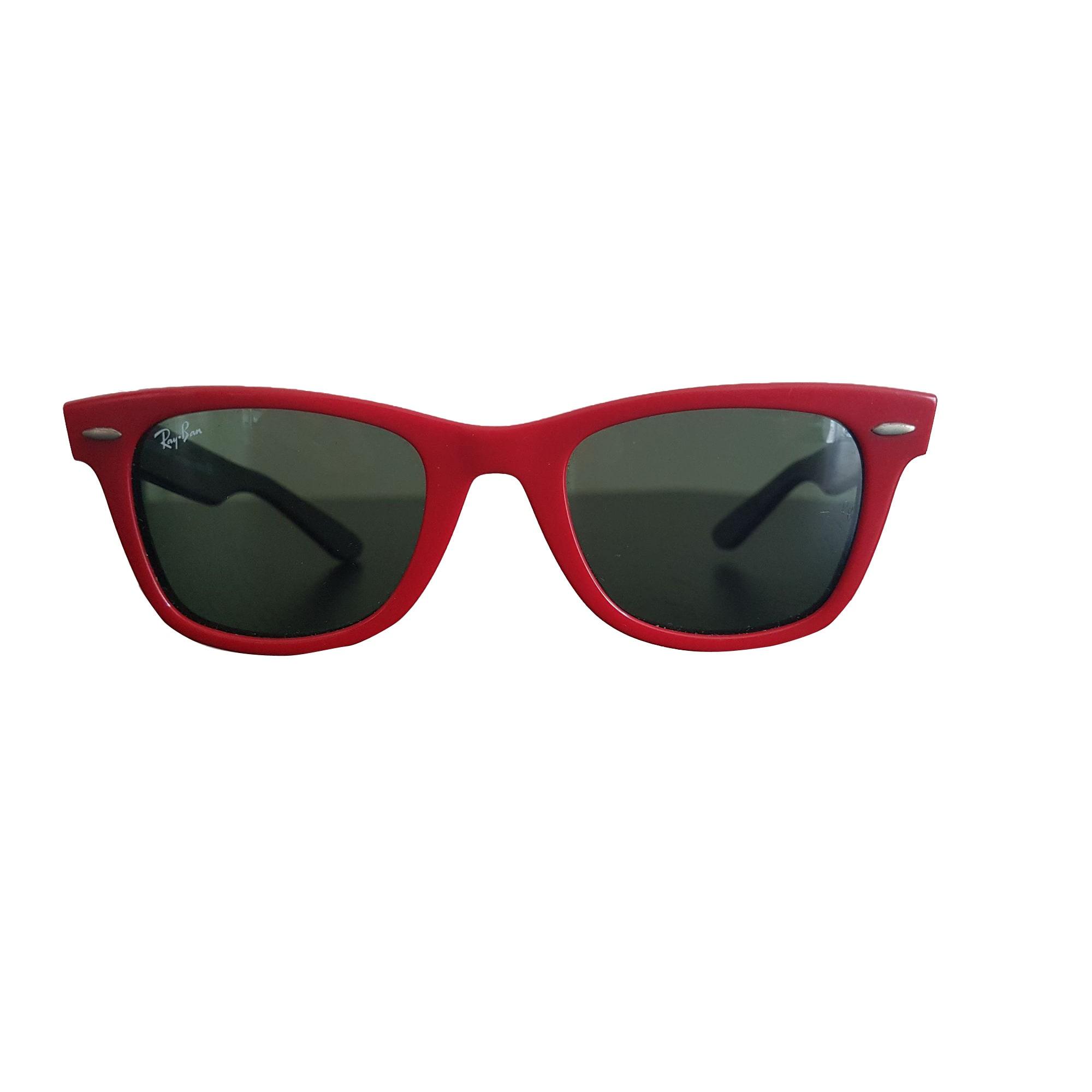 8e6964166534d2 Lunettes de soleil RAY-BAN rouge - 7740275