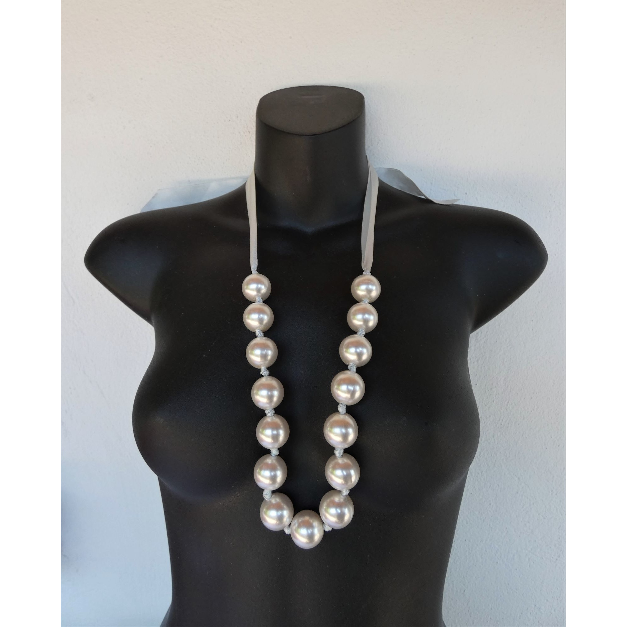 Collier NO COLLECTION perle blanc