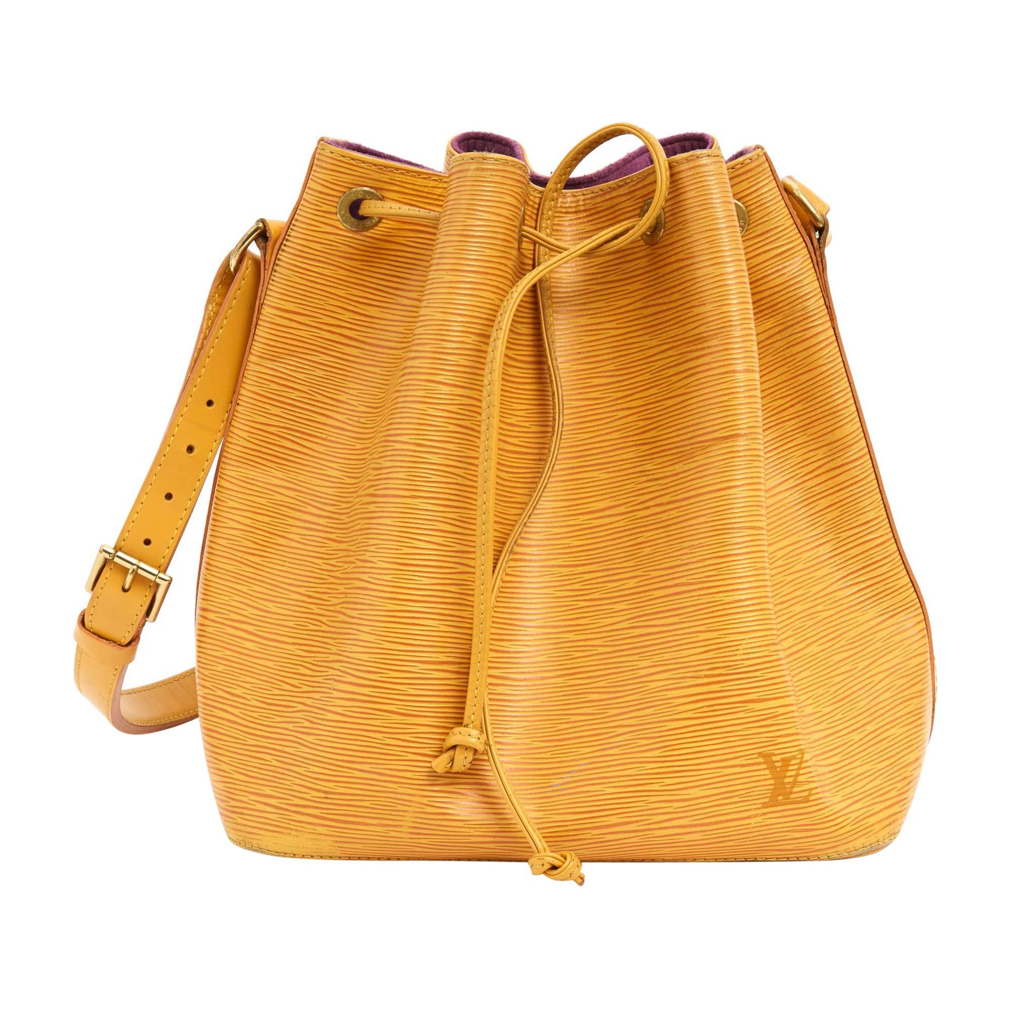 Sac en bandoulière en cuir LOUIS VUITTON no jaune - 7745729 e50eefdeaa1