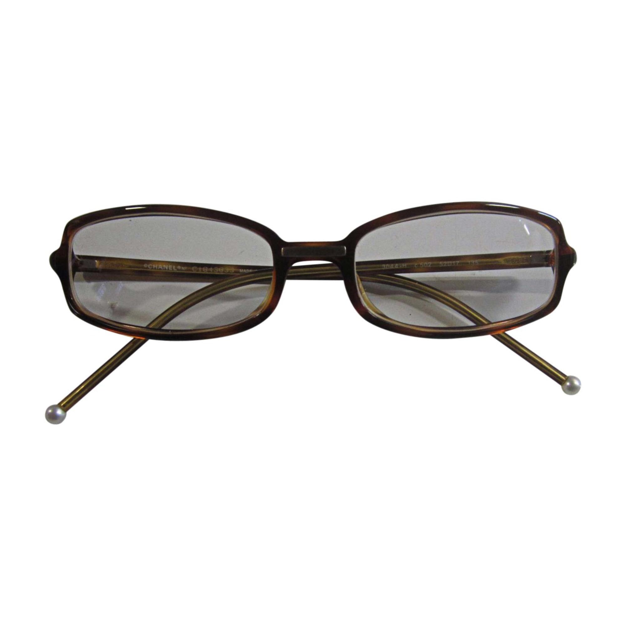 Monture de lunettes CHANEL marron - 7746268 b57b744f7dbd