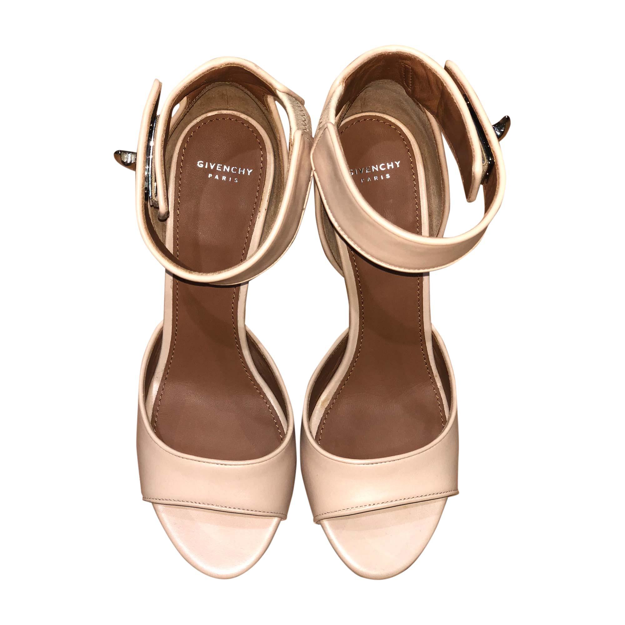 Heeled Sandals GIVENCHY Beige, camel