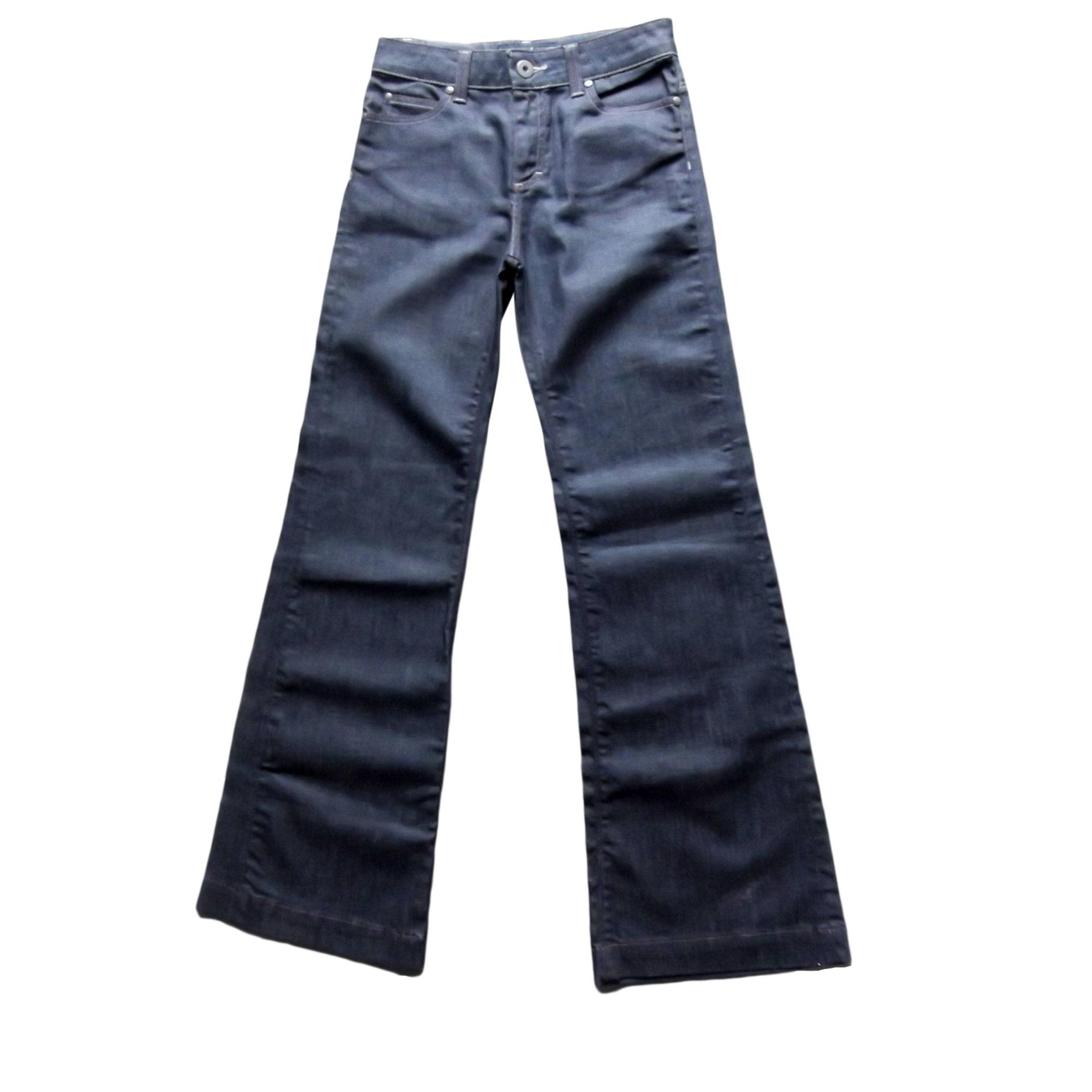 Jeans très evasé, patte d'éléphant