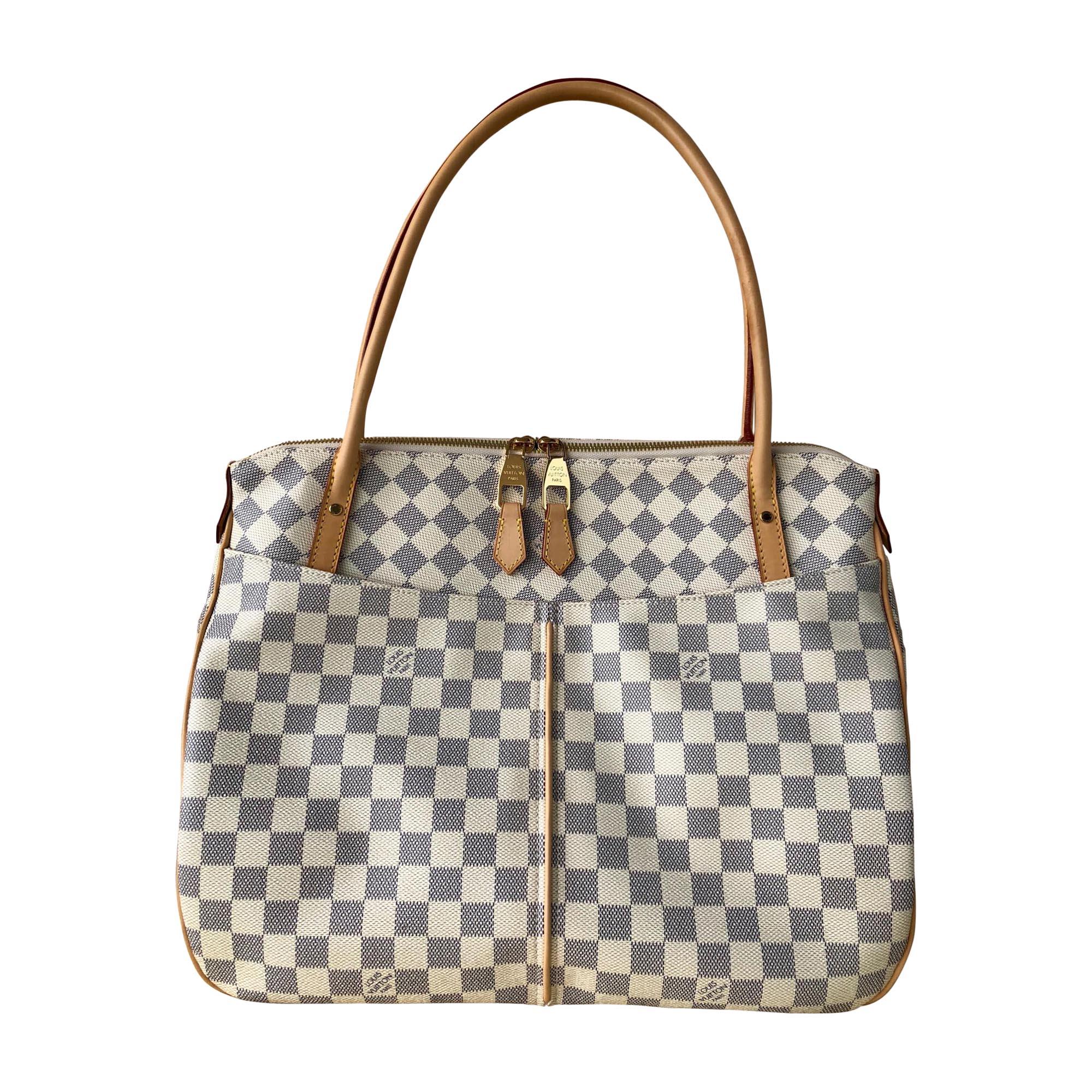99275f0d11 Sac XL en cuir LOUIS VUITTON blanc vendu par Anais... - 7749019