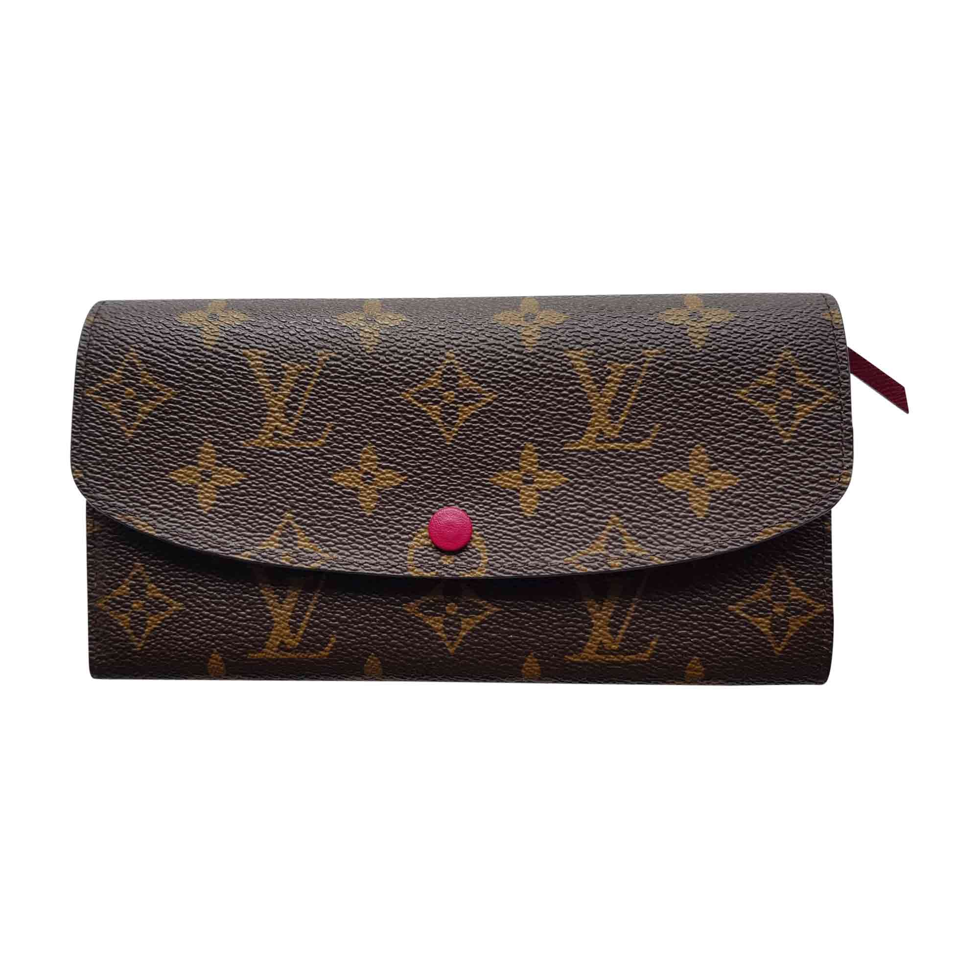 Portefeuille LOUIS VUITTON emilie monogram vendu par Destockdress ... c82b86ad6eb