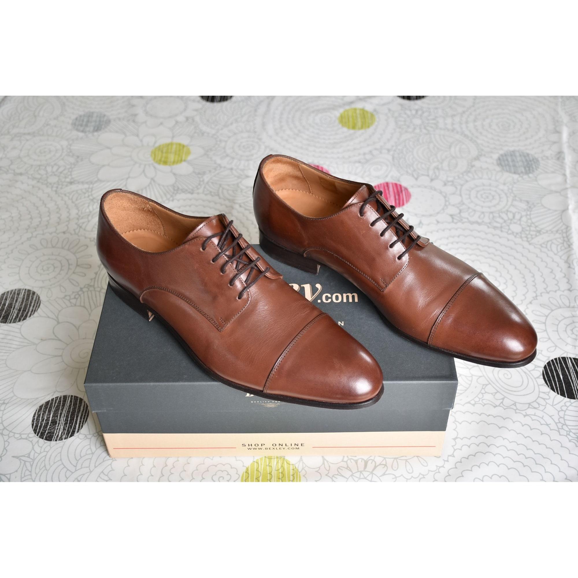 Chaussures à lacets BEXLEY 44 marron vendu par Gtch-fr - 7761694 8576eb92b6bb