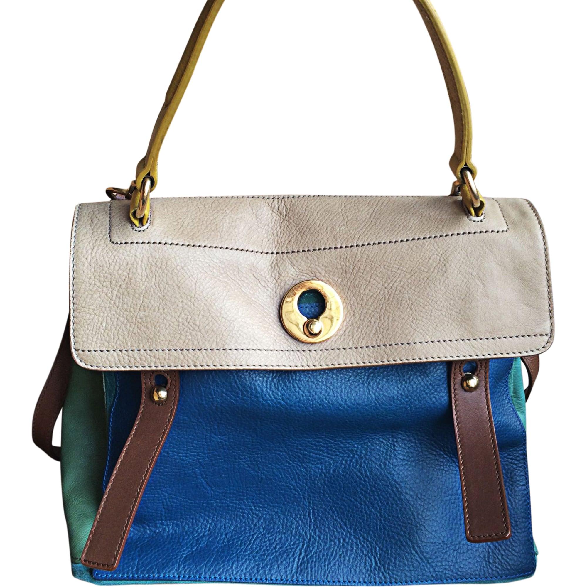 7480842494 Sac à main en cuir SAINT LAURENT sac de jour multicouleur vendu par ...