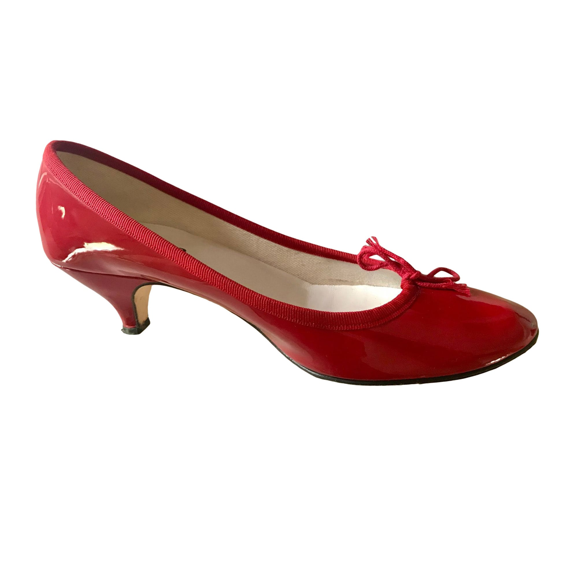 Ballet Flats REPETTO Red, burgundy