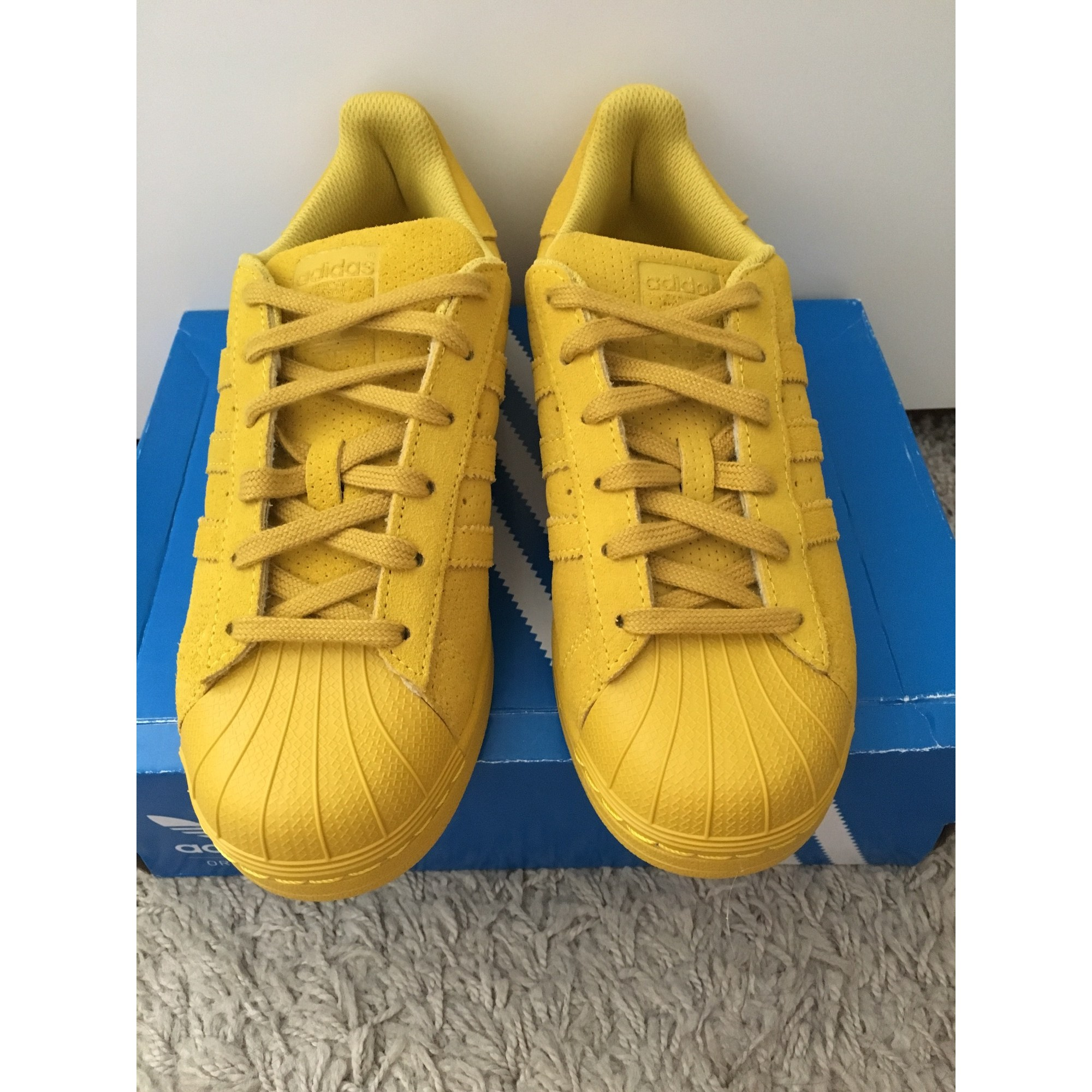 Baskets ADIDAS Superstar Jaune