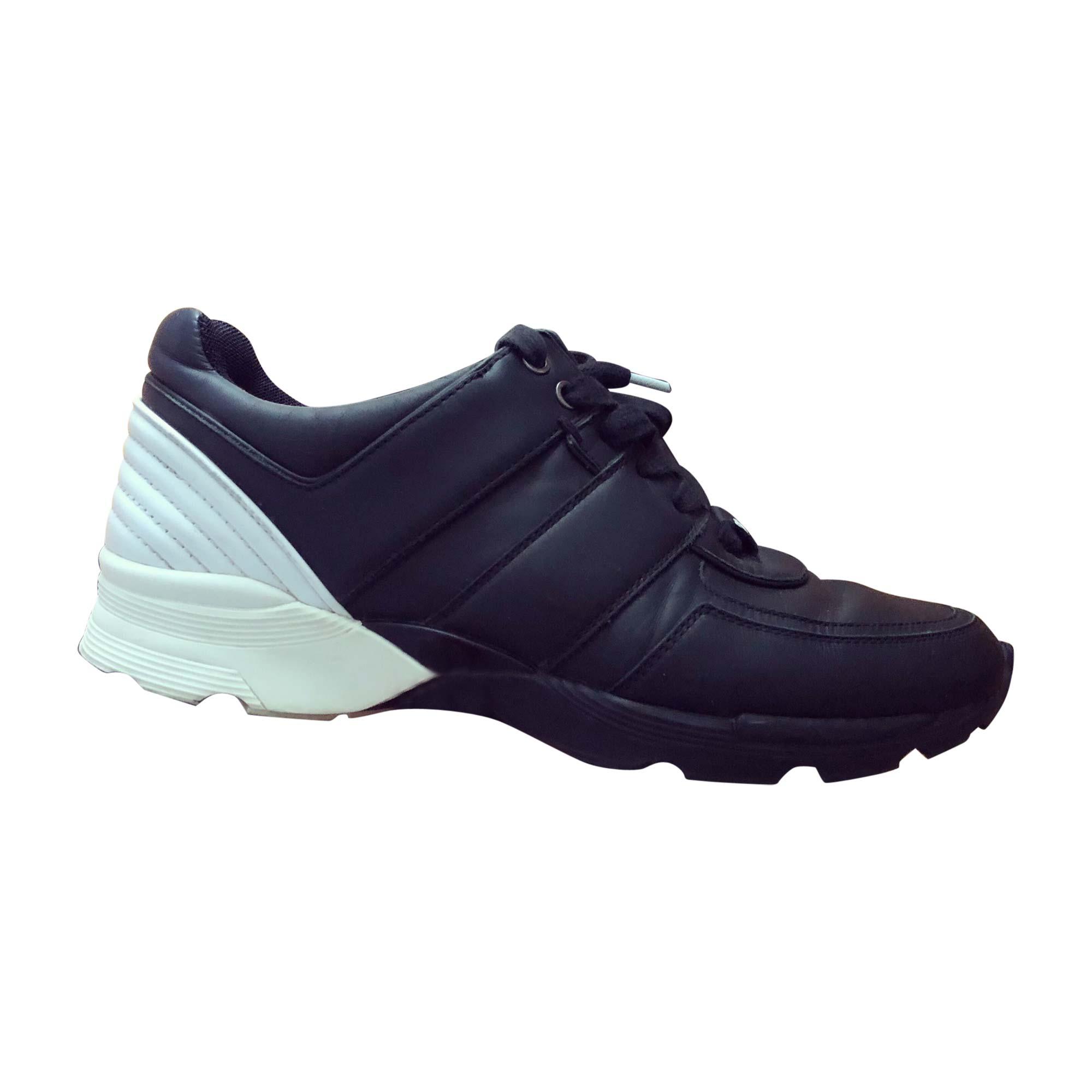 Baskets CHANEL 40,5 noir - 7766163 42ea5ab5127