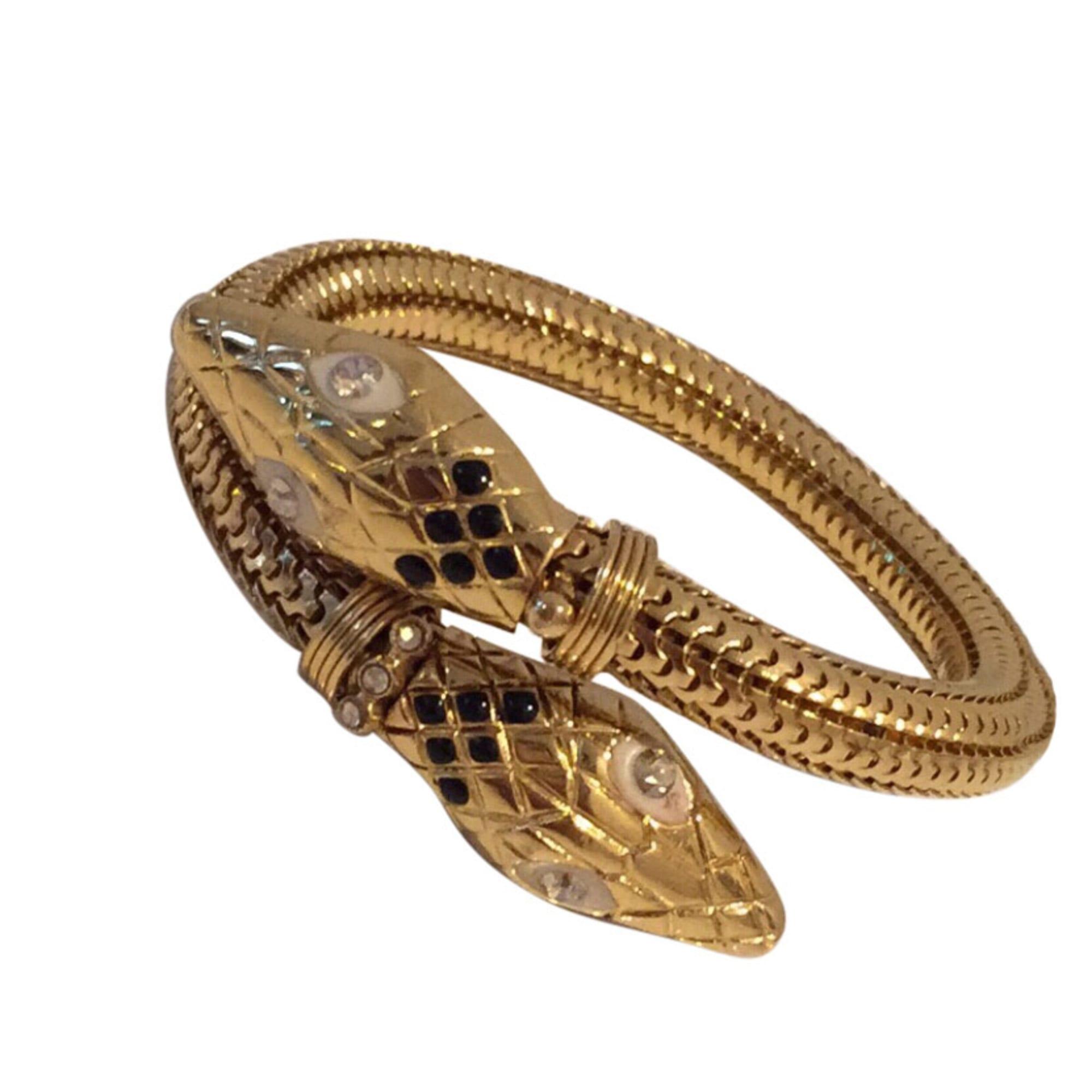 Bracelet GAS BIJOUX Golden, bronze, copper