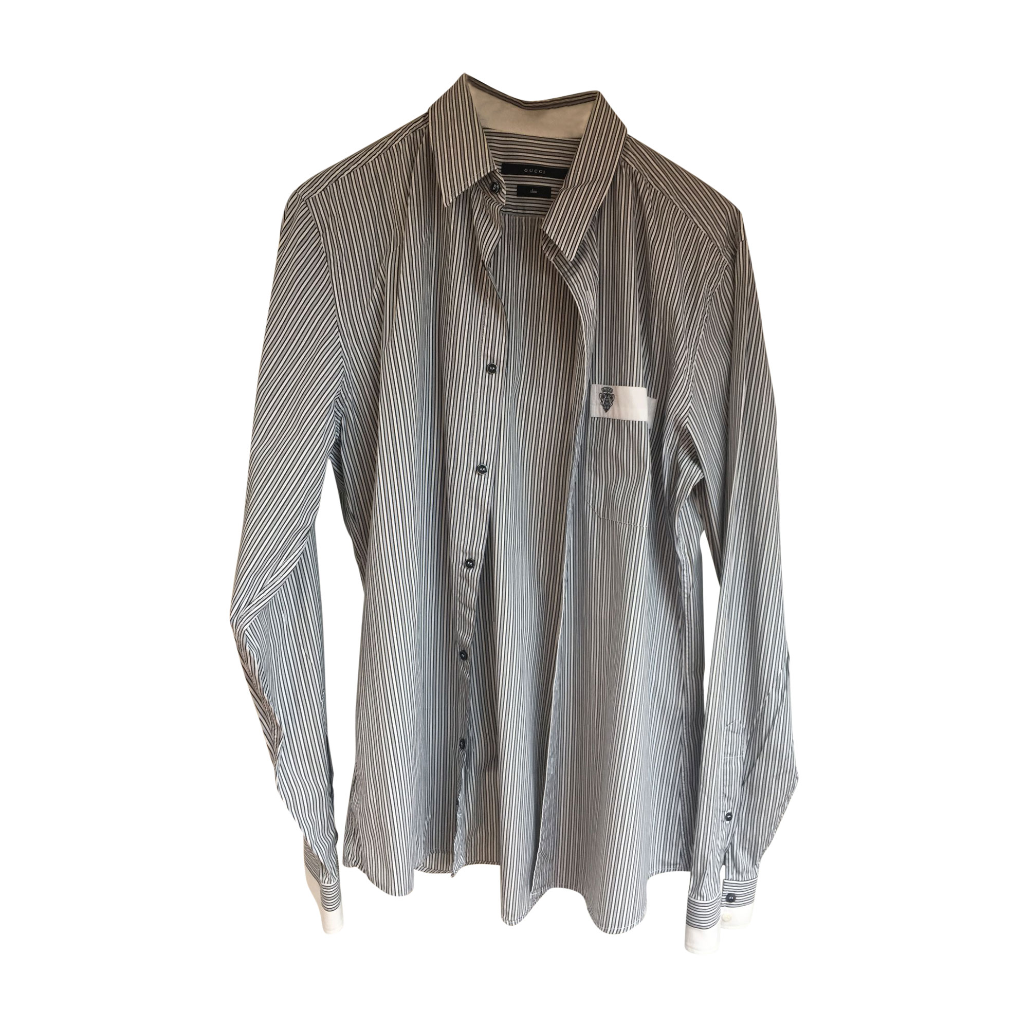 Shirt GUCCI Gray, charcoal