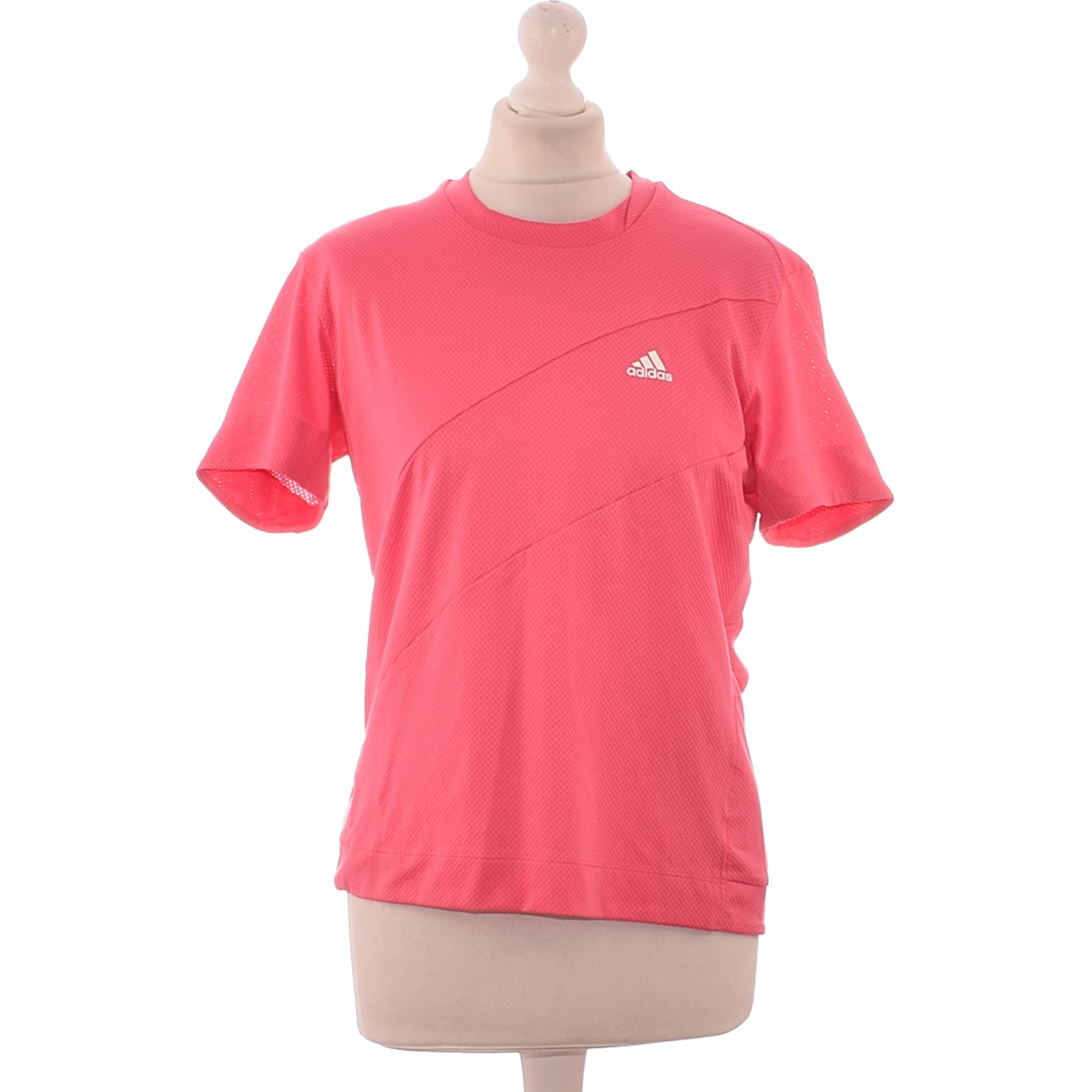 Top, T-shirt ADIDAS Pink, fuchsia, light pink