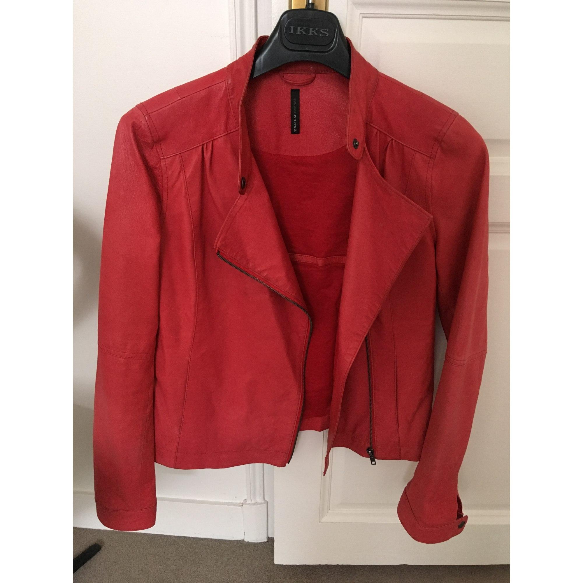 Veste rouge mode