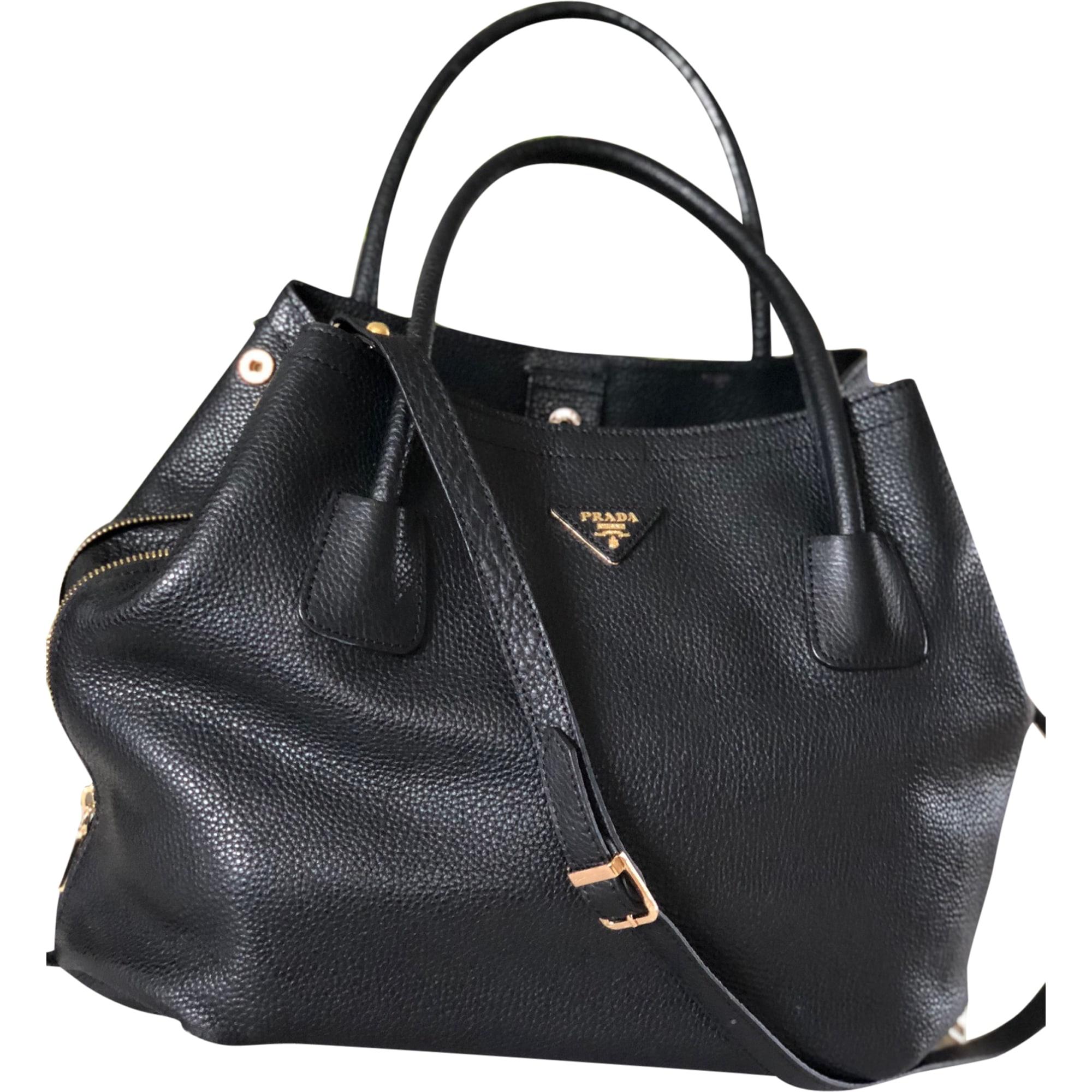9993dd703aff10 Leather Handbag PRADA black vendu par Marmousez - 7779832