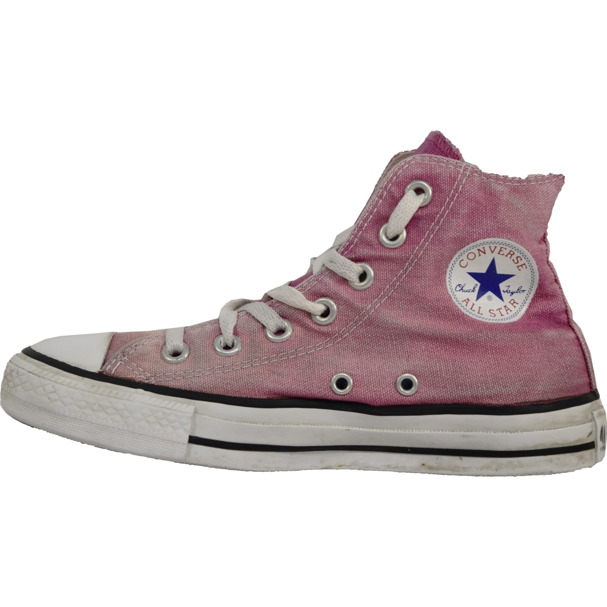 basket converse rose