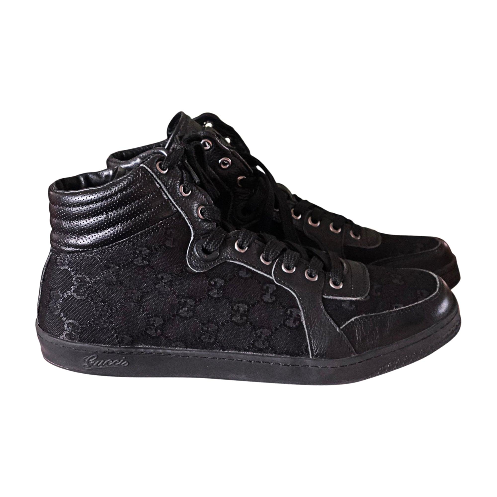 Baskets GUCCI 44 noir - 7780837 e267f3db505