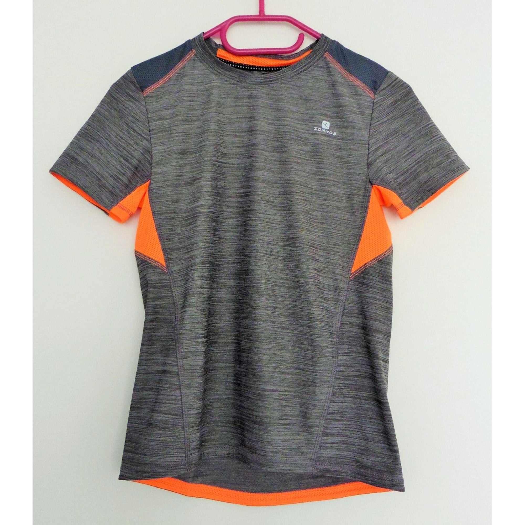Tee-shirt DOMYOS Gris, anthracite