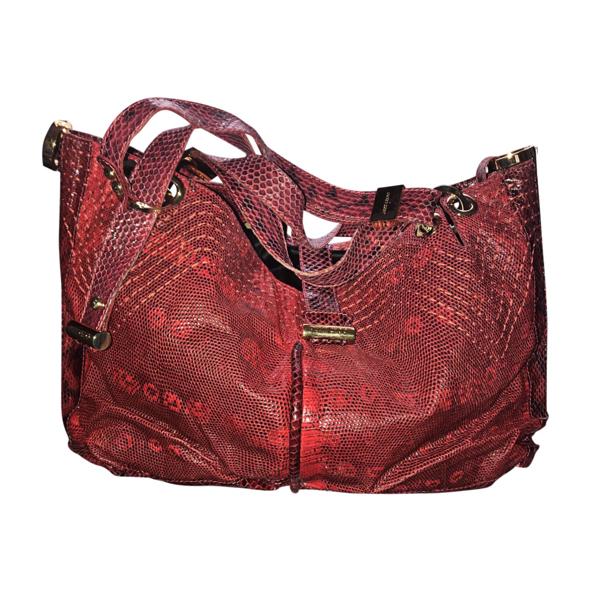 28b6dc117a10e Leather handbag jimmy choo red burgundy jpg 2000x2000 Choo handbags