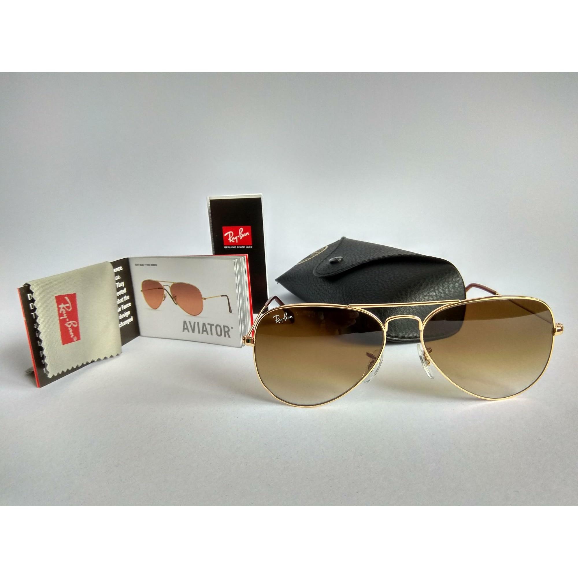 Sonnenbrille RAY-BAN gold vendu par Matwils - 7789859