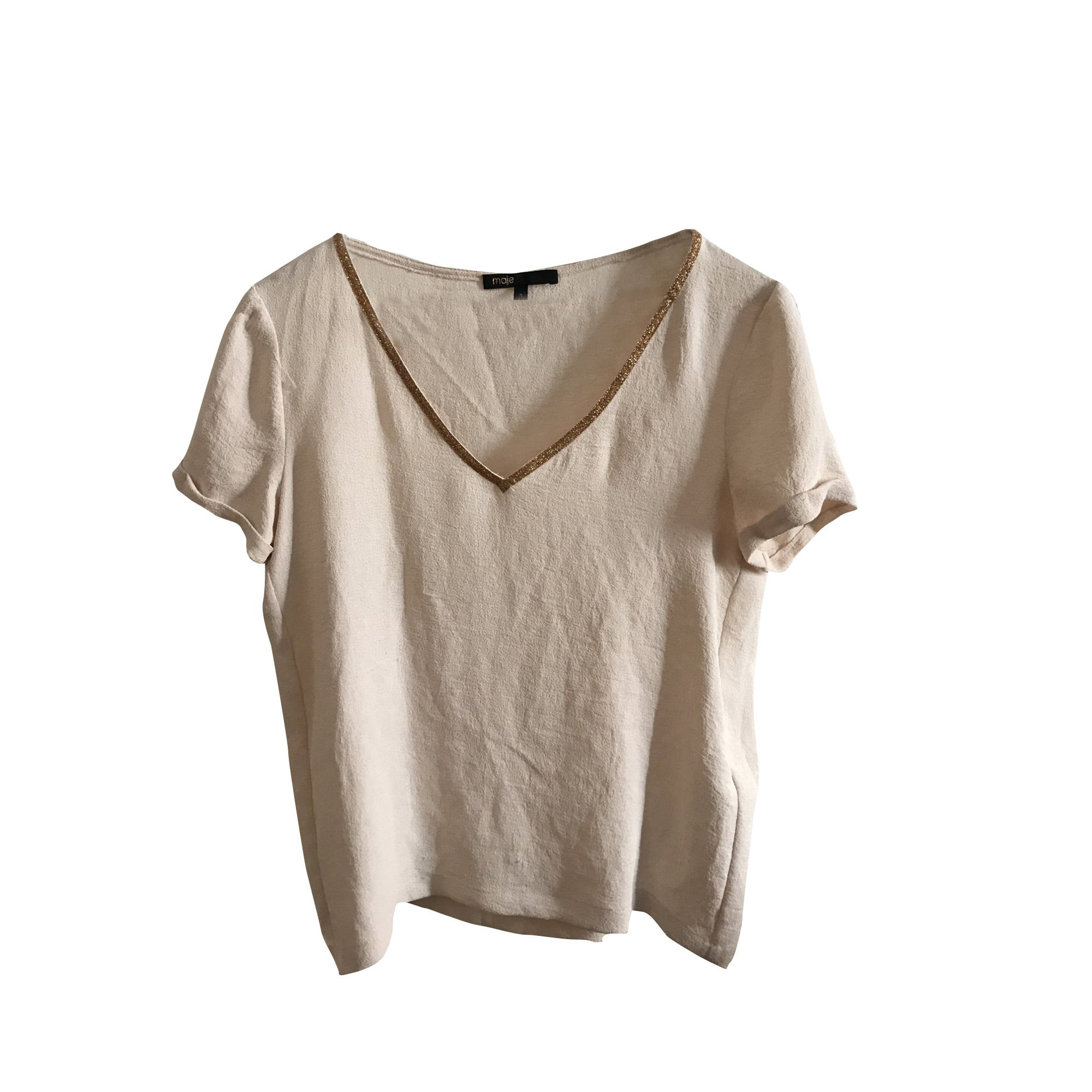 Maje Blouse polyester 40 (L, T3)