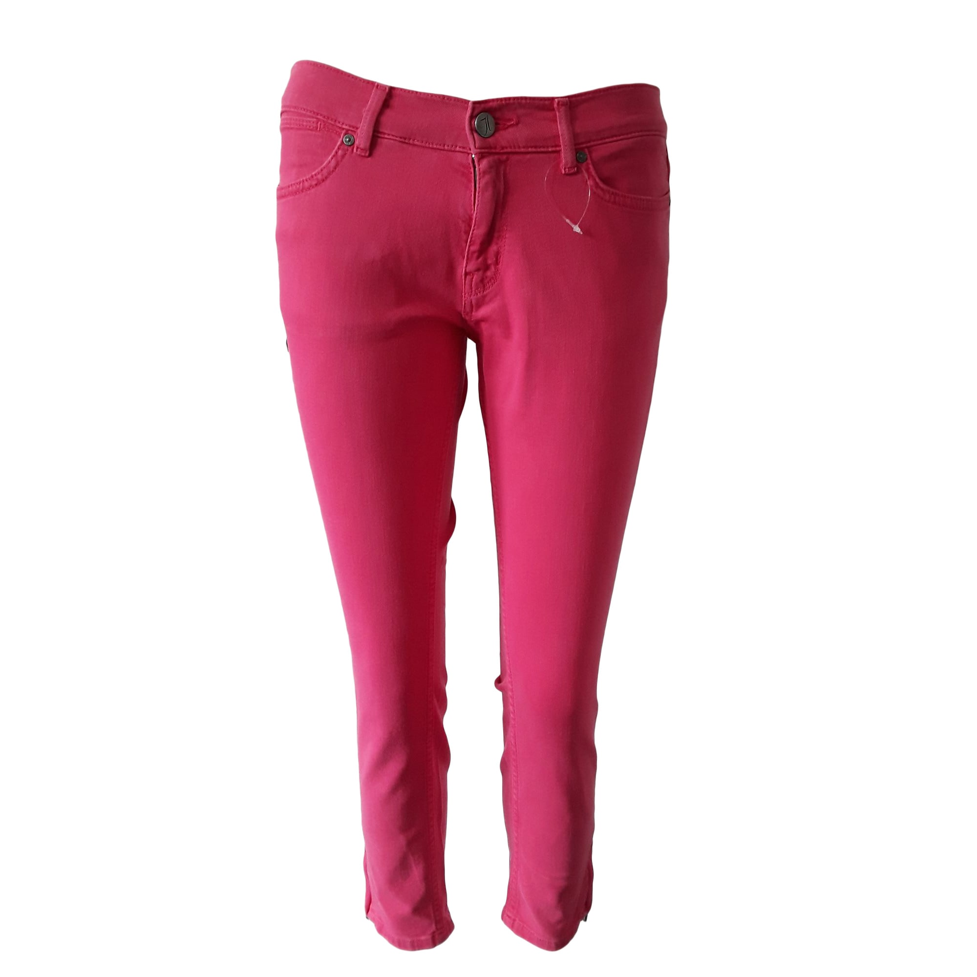 pantalon tommy hilfiger rose