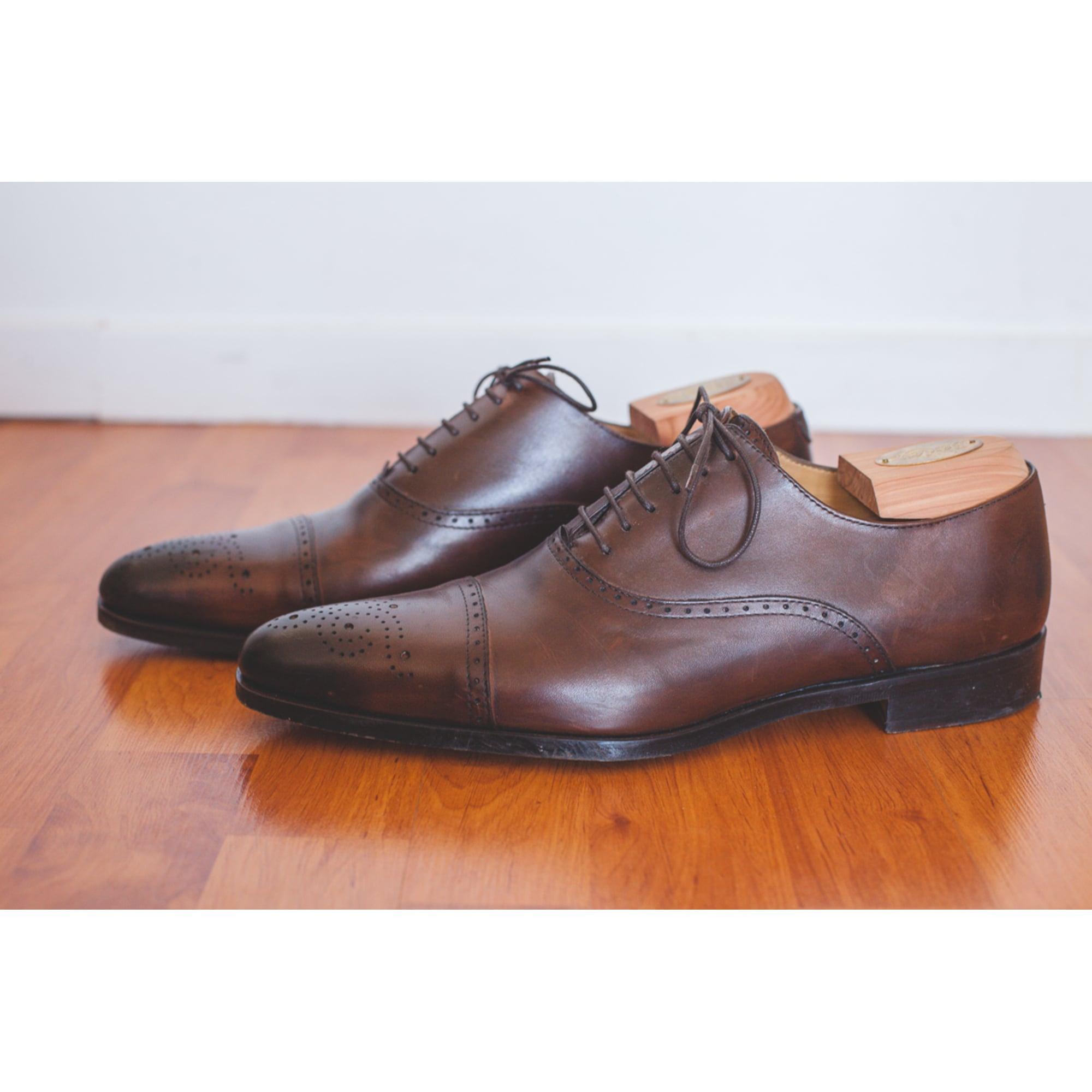 Jeampaul126055 à Chaussures marron 45 par lacets BEXLEY vendu 7793122 RxPqCwS