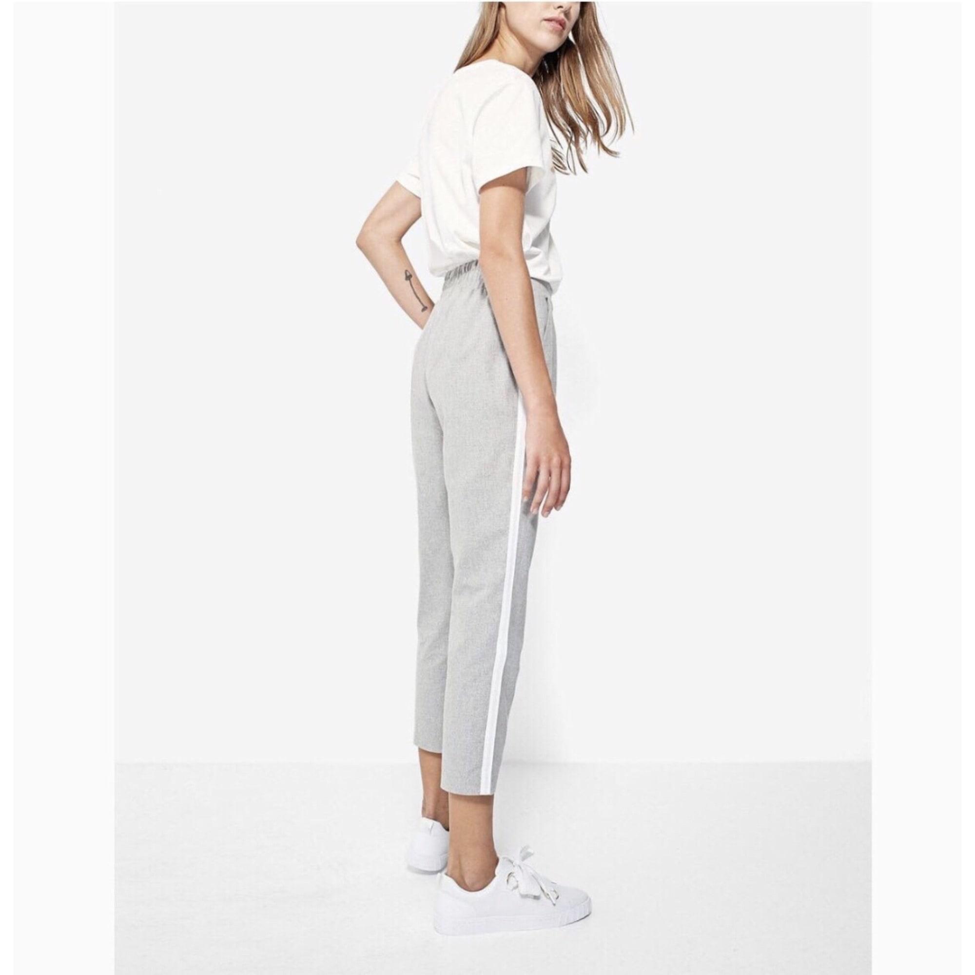 classic fit reliable quality online for sale Medio NoticiasPantalon Femme Zara Top Carotte 10 Punto KcFl1J