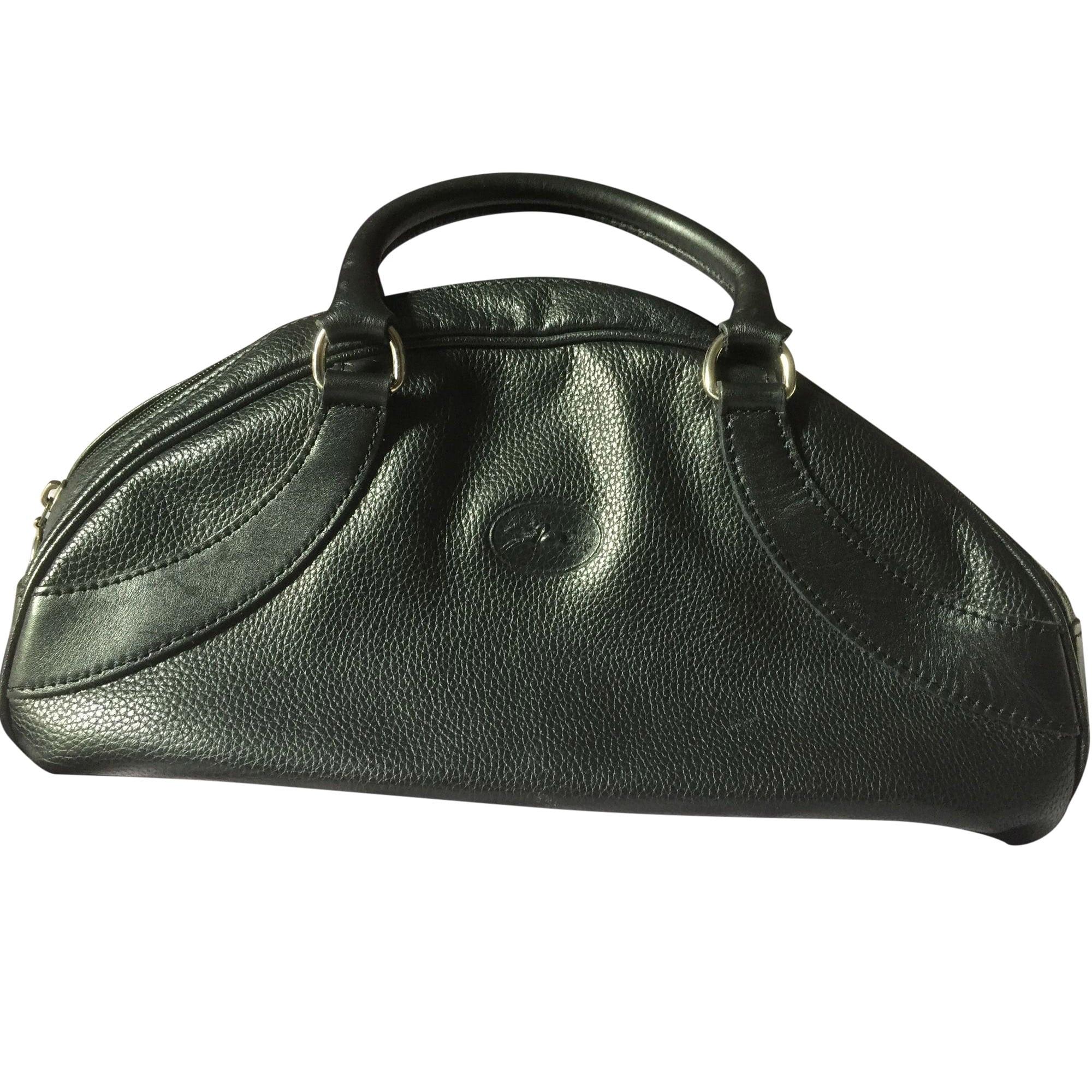 Longchamp En Main Cuir Noir Sac À CqwIEIZ