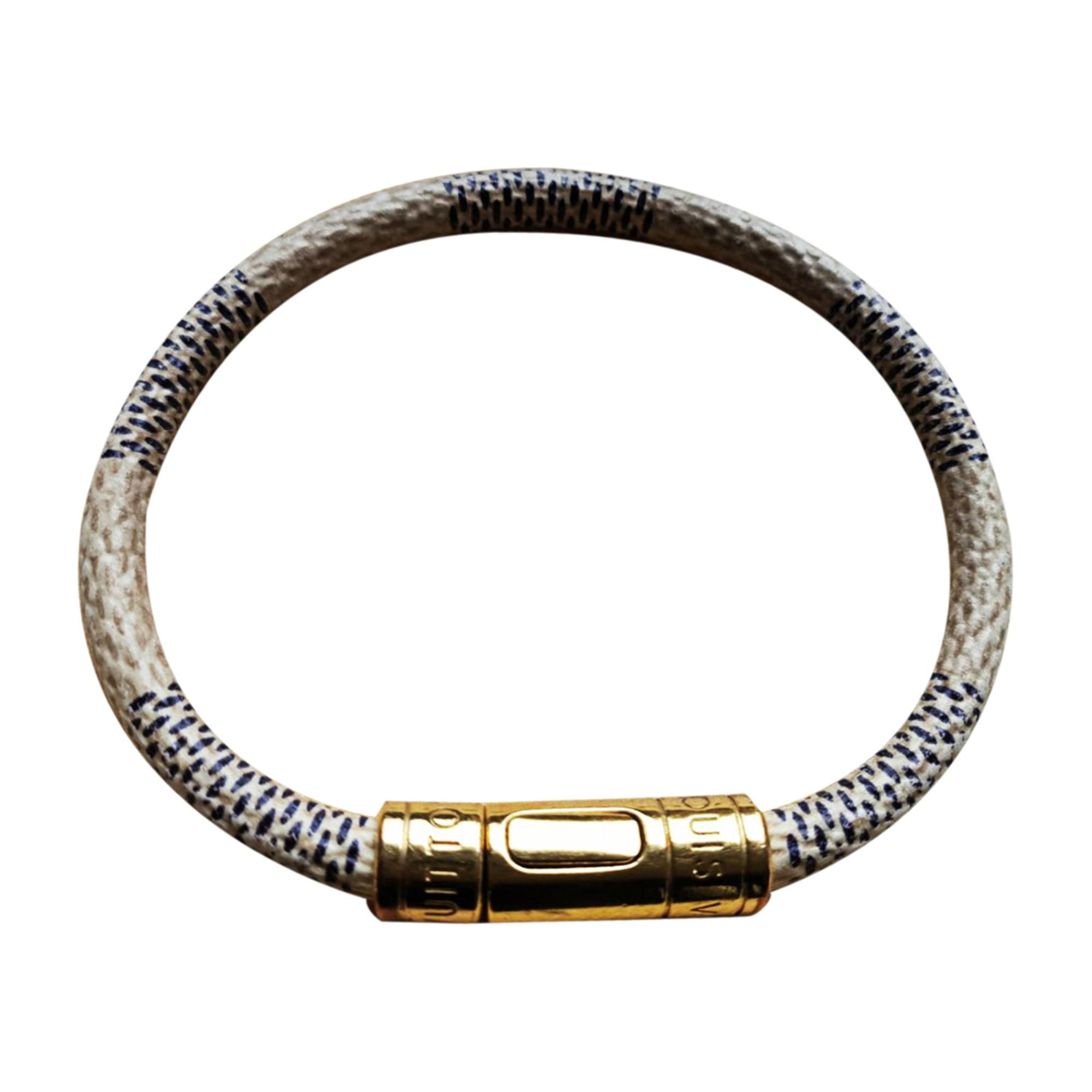 d653daf06882 Bracelet LOUIS VUITTON Blanc, blanc cassé, écru