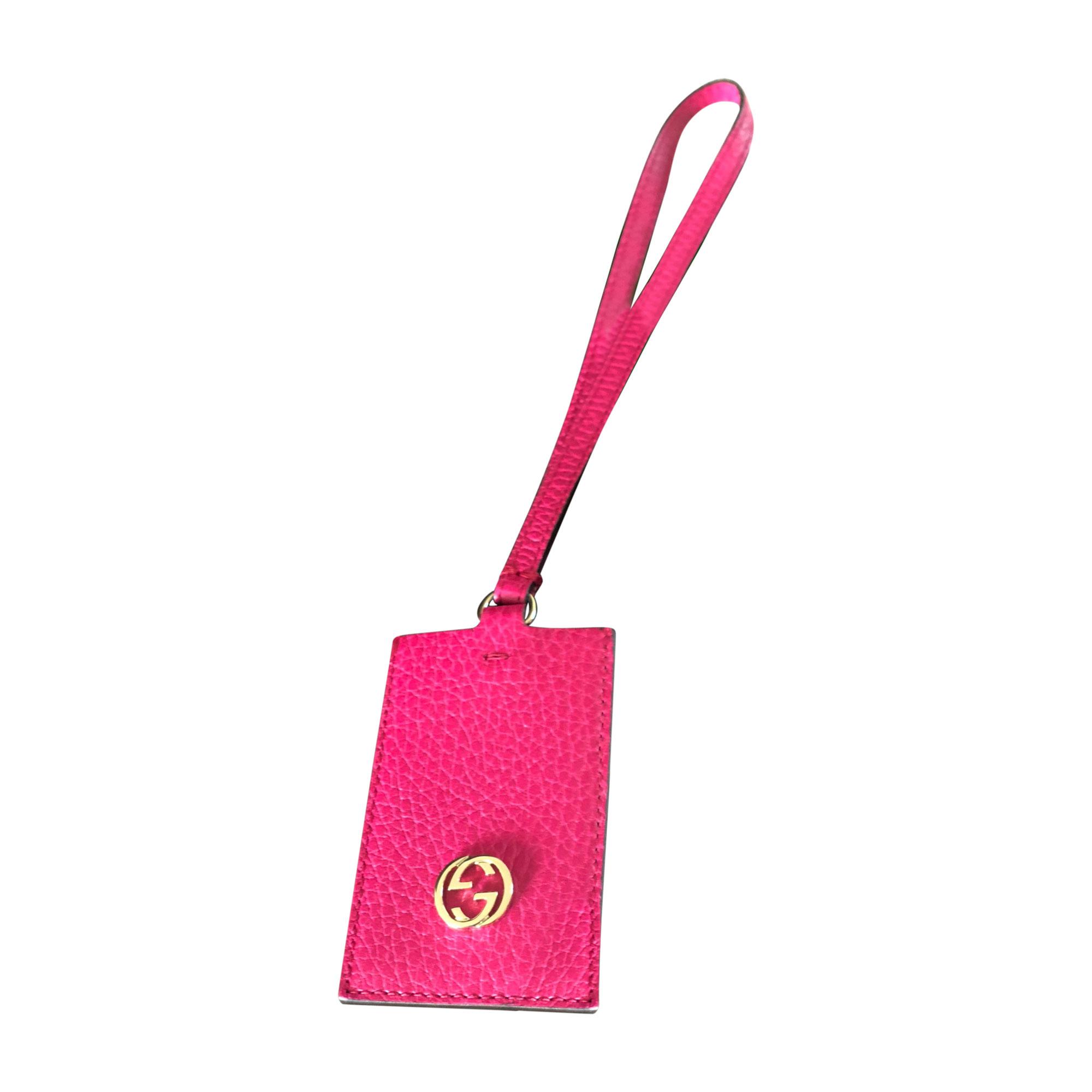 Schlüsseletui GUCCI Pink,  altrosa