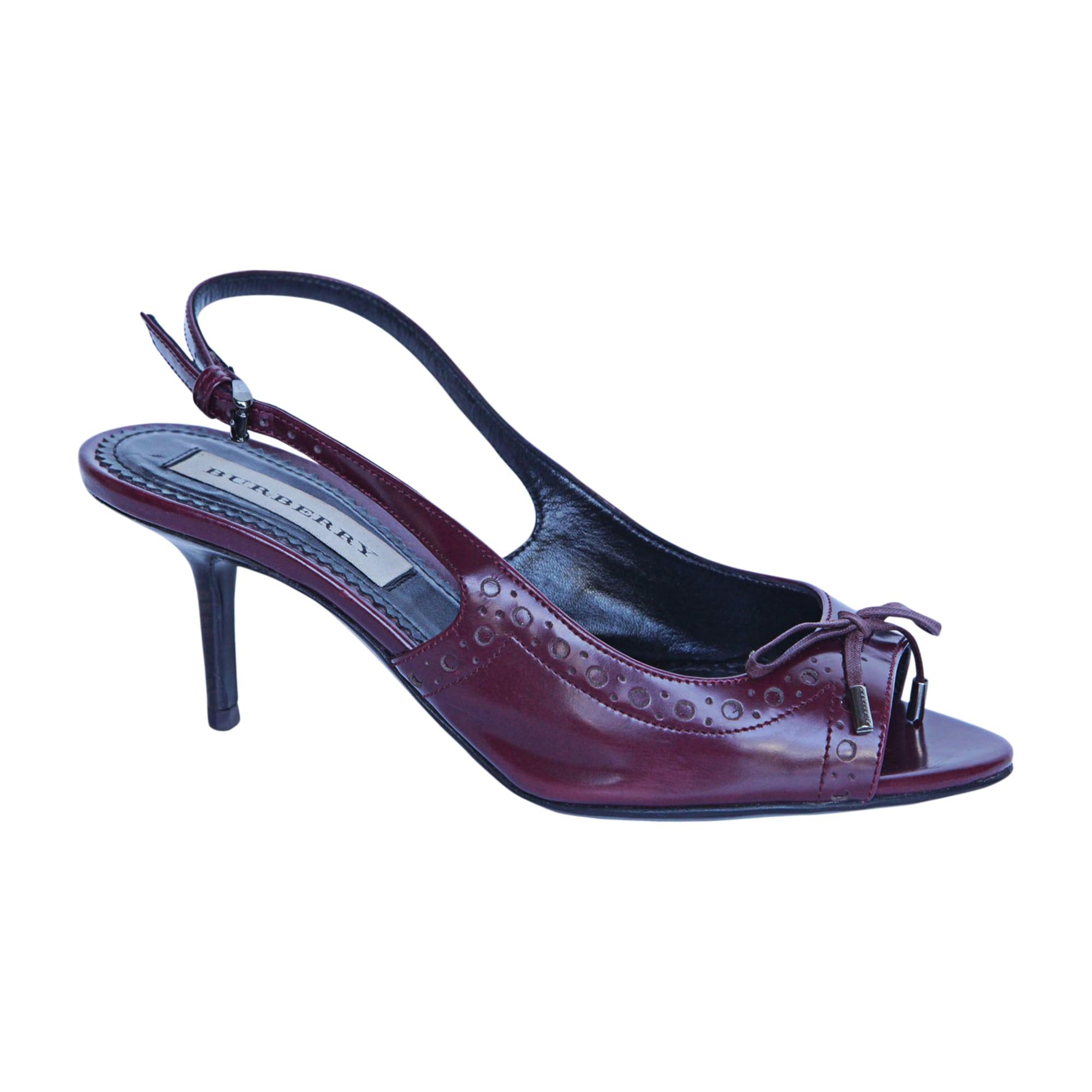 Sandales à talons BURBERRY Violet, mauve, lavande