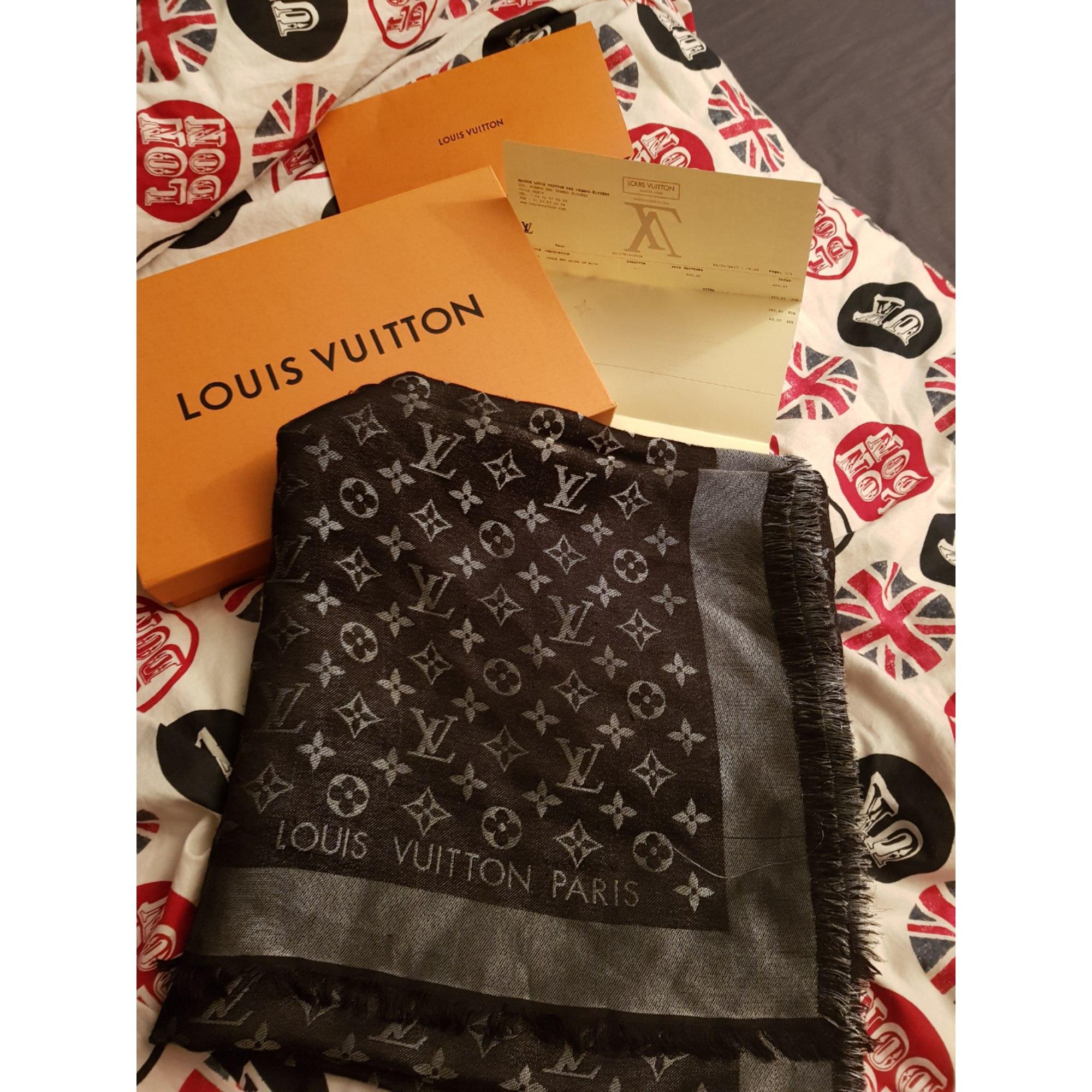 Châle LOUIS VUITTON noir - 7806041 727fcc5b51d