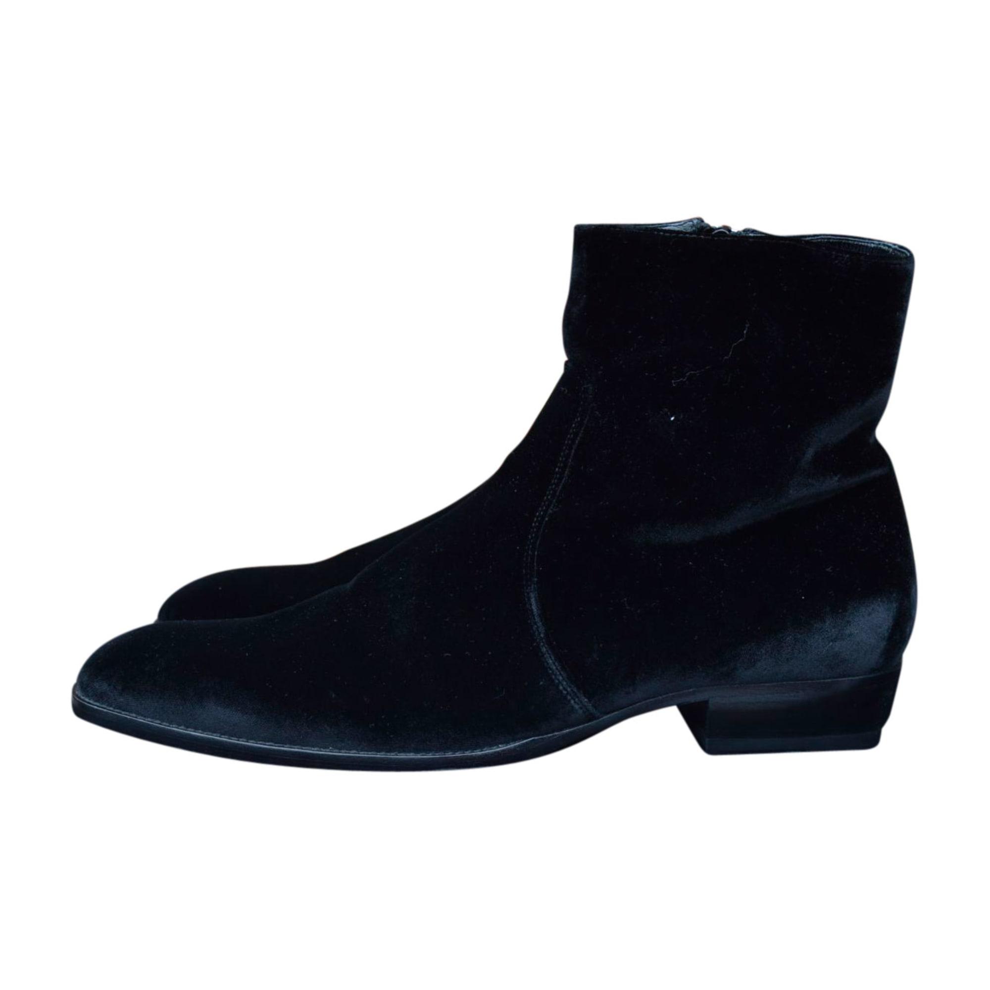 Boots SAINT LAURENT Black