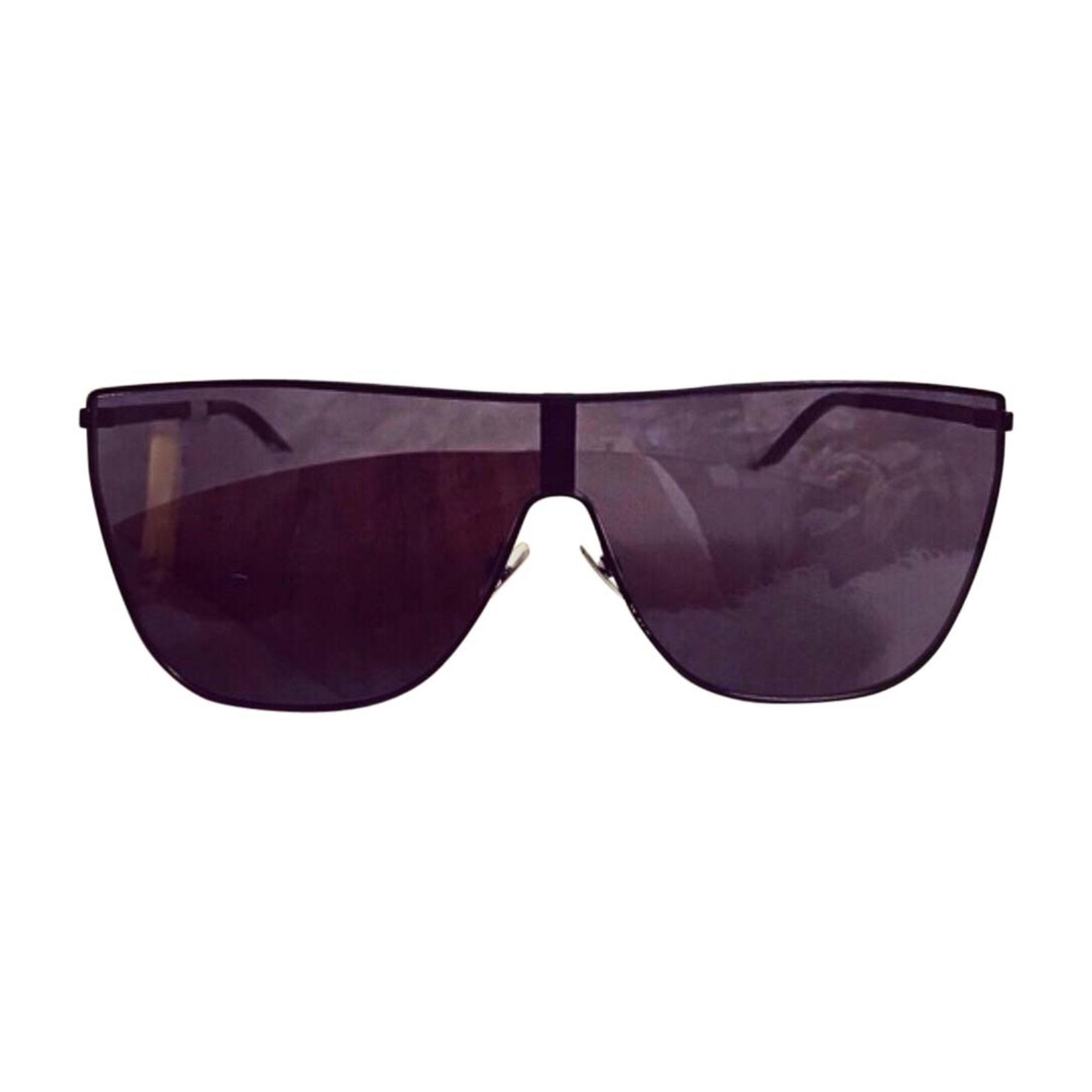 lunettes de soleil saint laurent noir 7808848. Black Bedroom Furniture Sets. Home Design Ideas