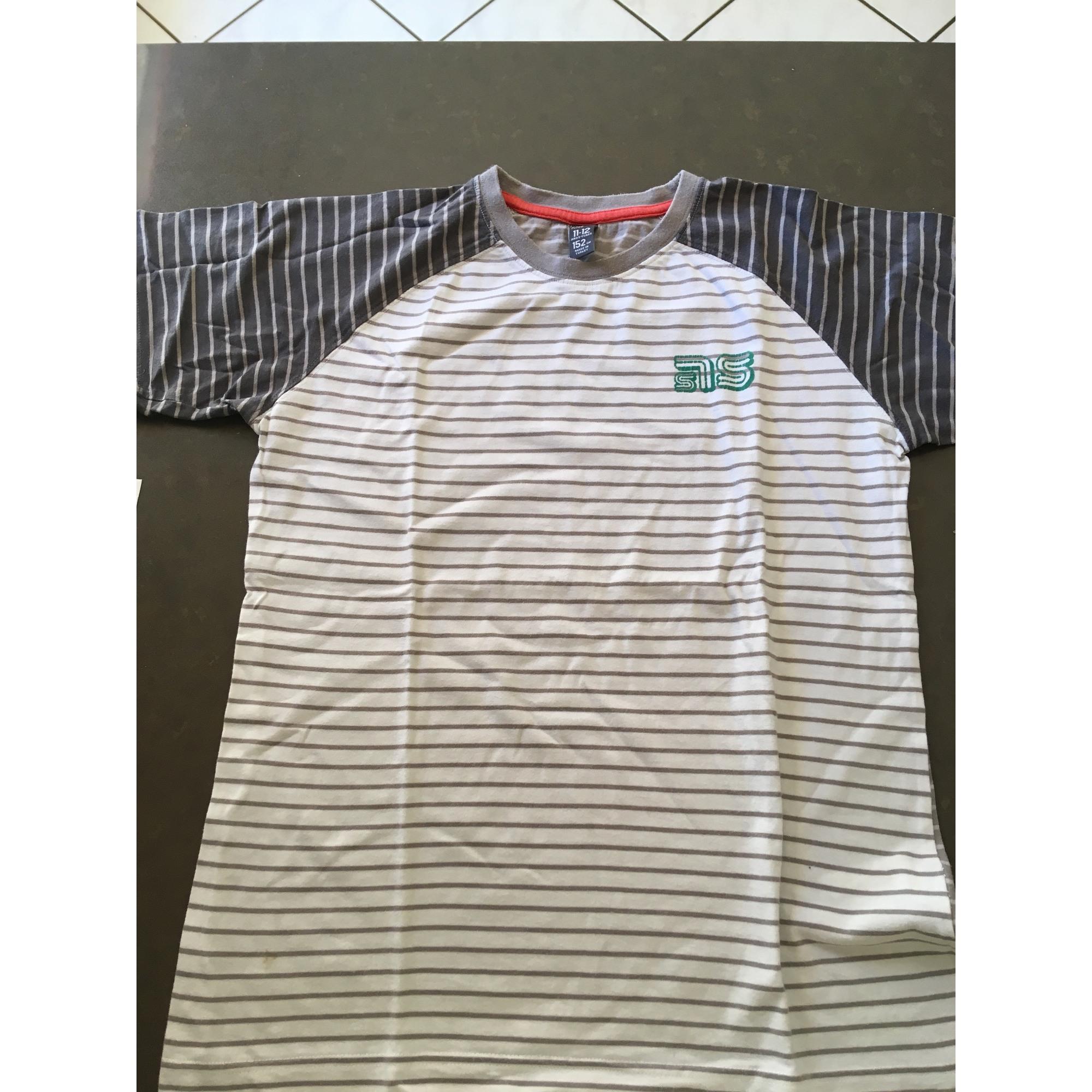 Tee-shirt ZARA Blanc, blanc cassé, écru