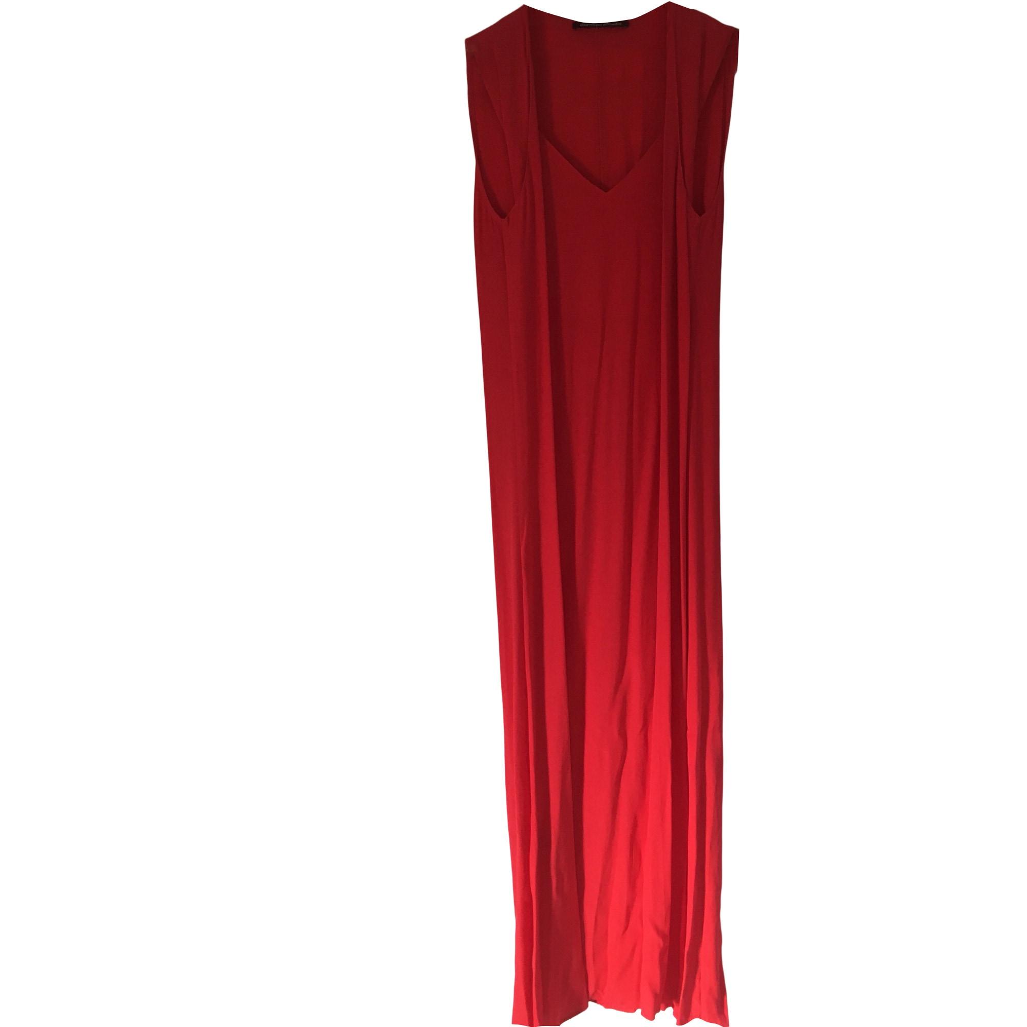 Robe longue comptoir des cotonniers 36 s t1 framboise - Robe longue comptoir des cotonniers ...