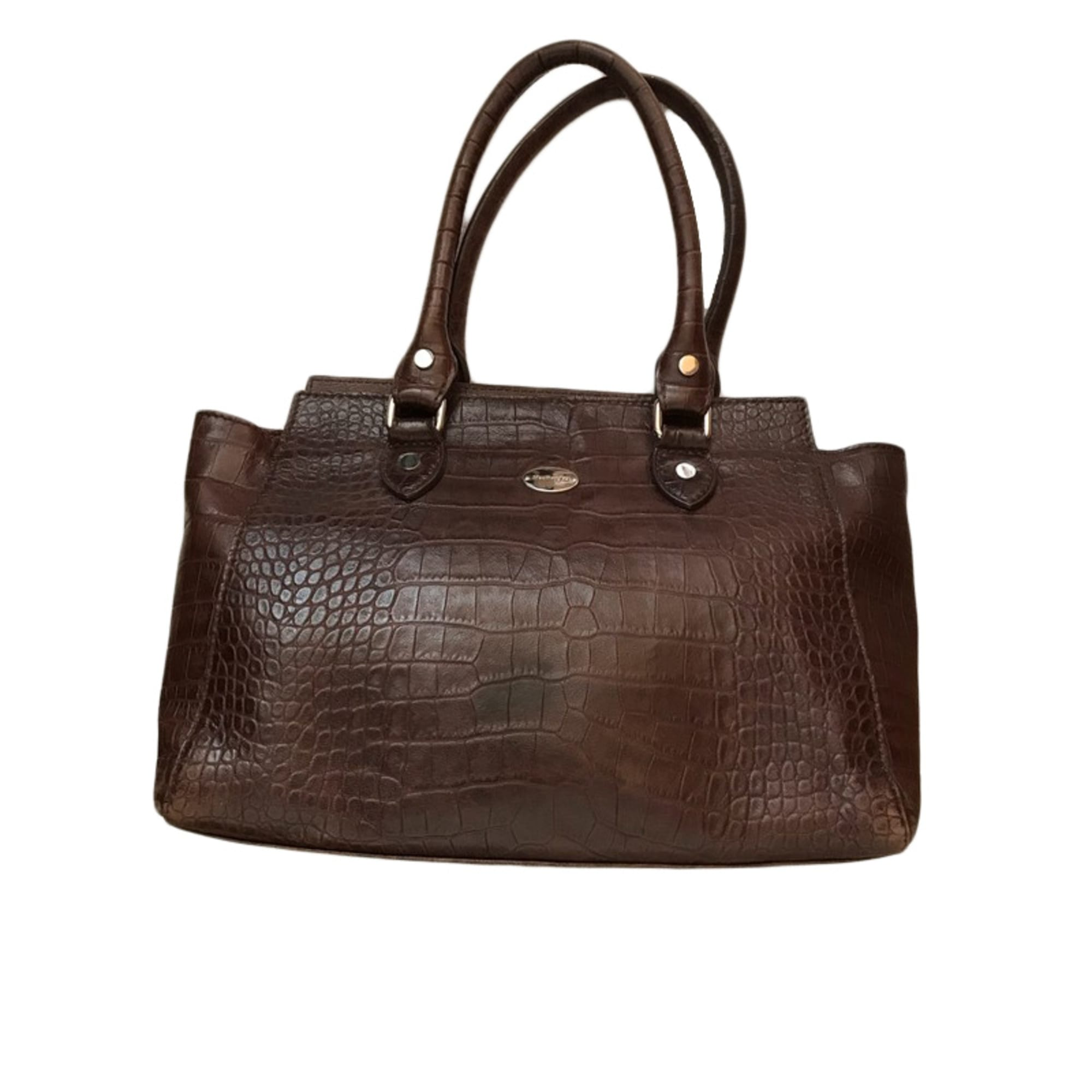 01bb9e5c75d Sac à main en cuir MAC DOUGLAS marron - 7815040