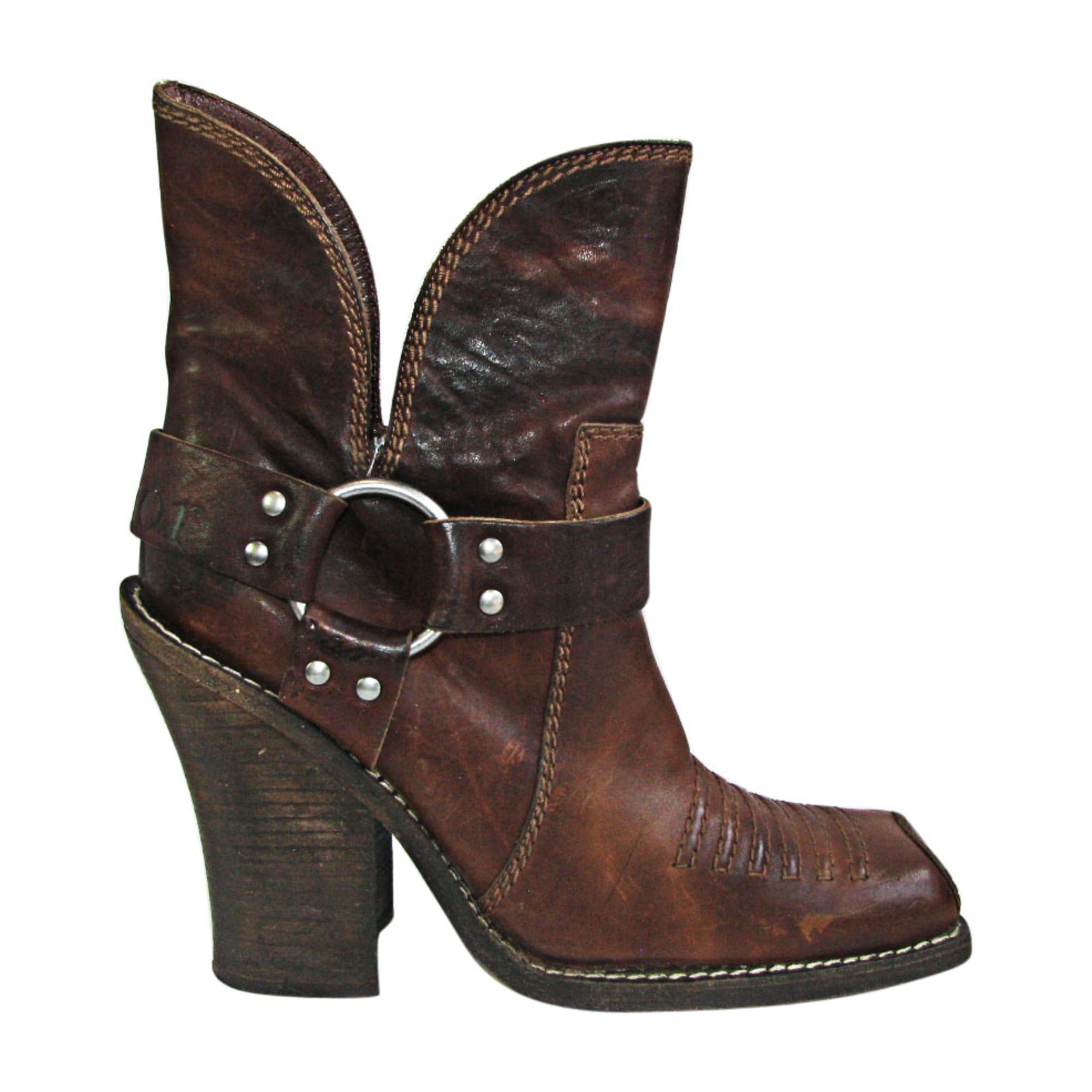 100% autentico 2aa9b 78476 Stivali a punta, stivaletti, stivali bassi cowboy DIOR