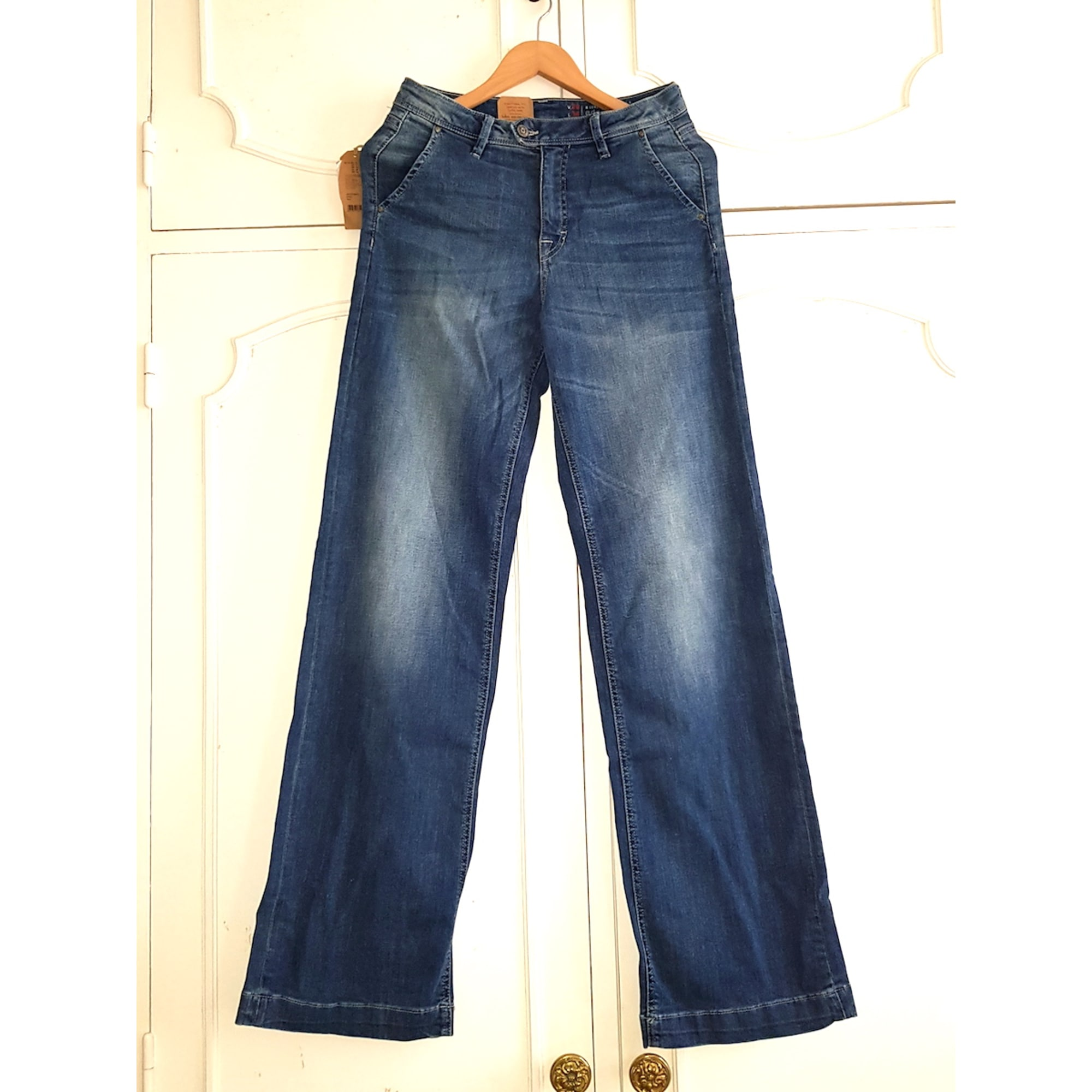 18839d845e4 Jeans évasé, boot-cut EDC BY ESPRIT Bleu, bleu marine, bleu turquoise