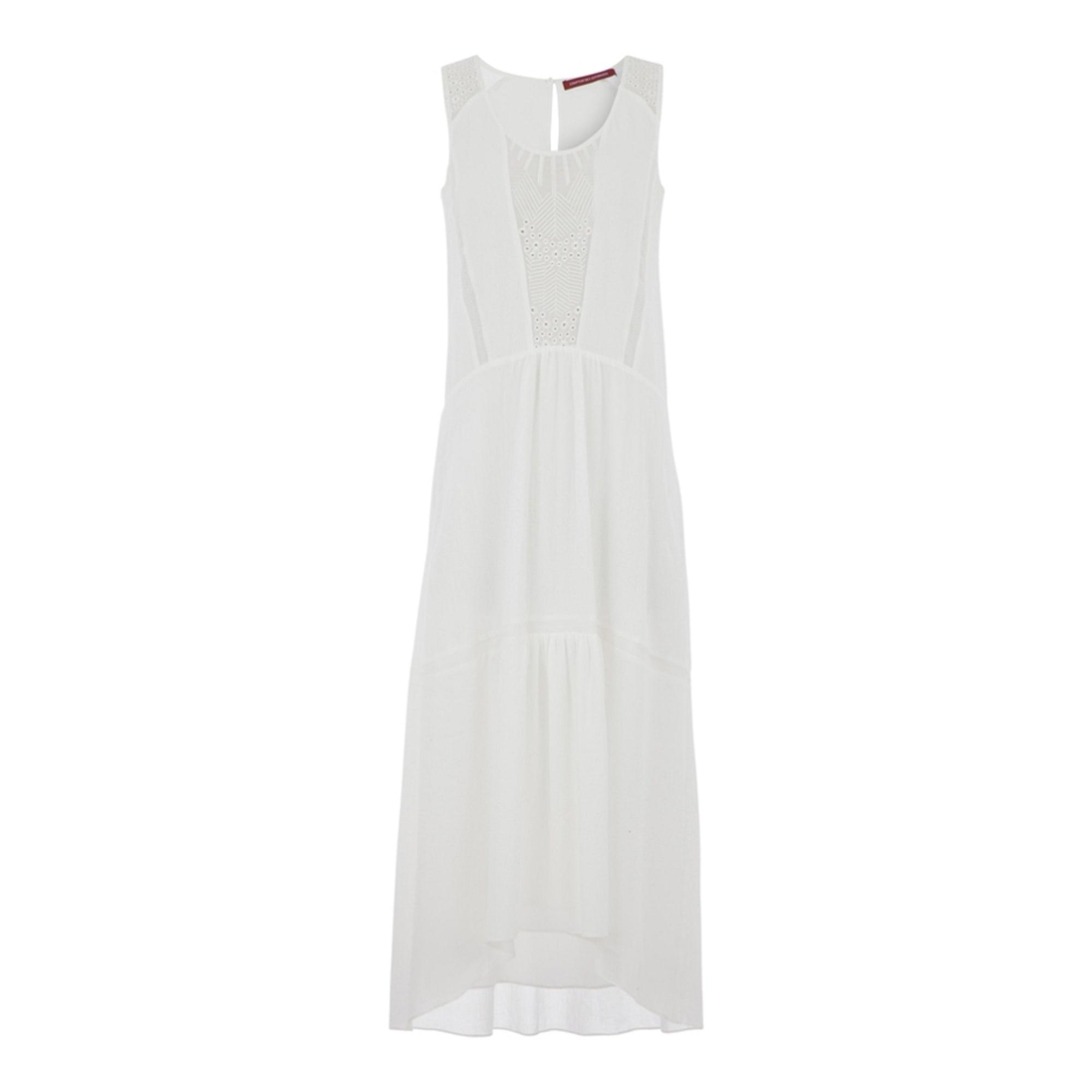 Robe longue comptoir des cotonniers 36 s t1 blanc 7821403 - Robe longue comptoir des cotonniers ...