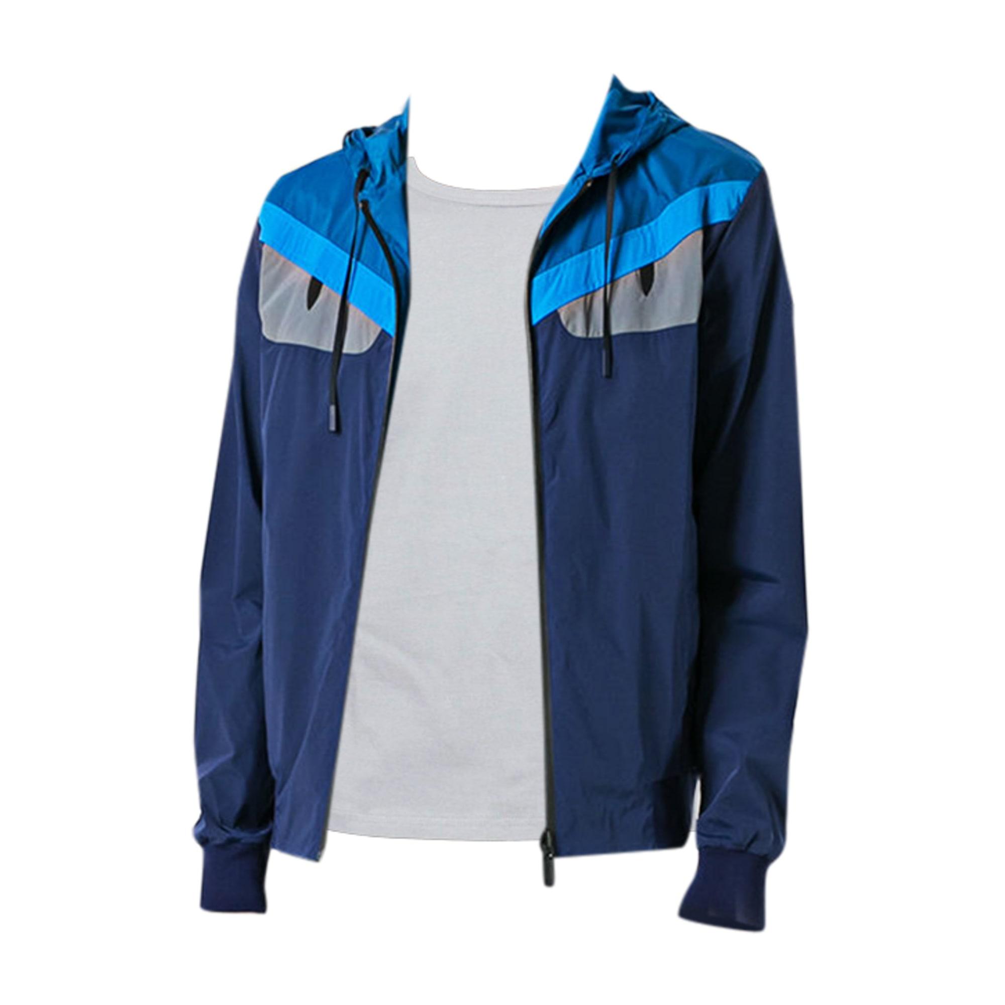 b2daa9084546 Veste FENDI Bleu, bleu marine, bleu turquoise