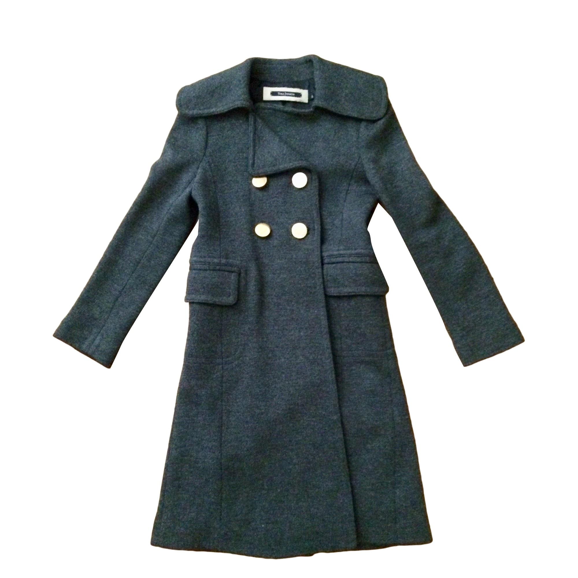 Coat TARA JARMON Gray, charcoal
