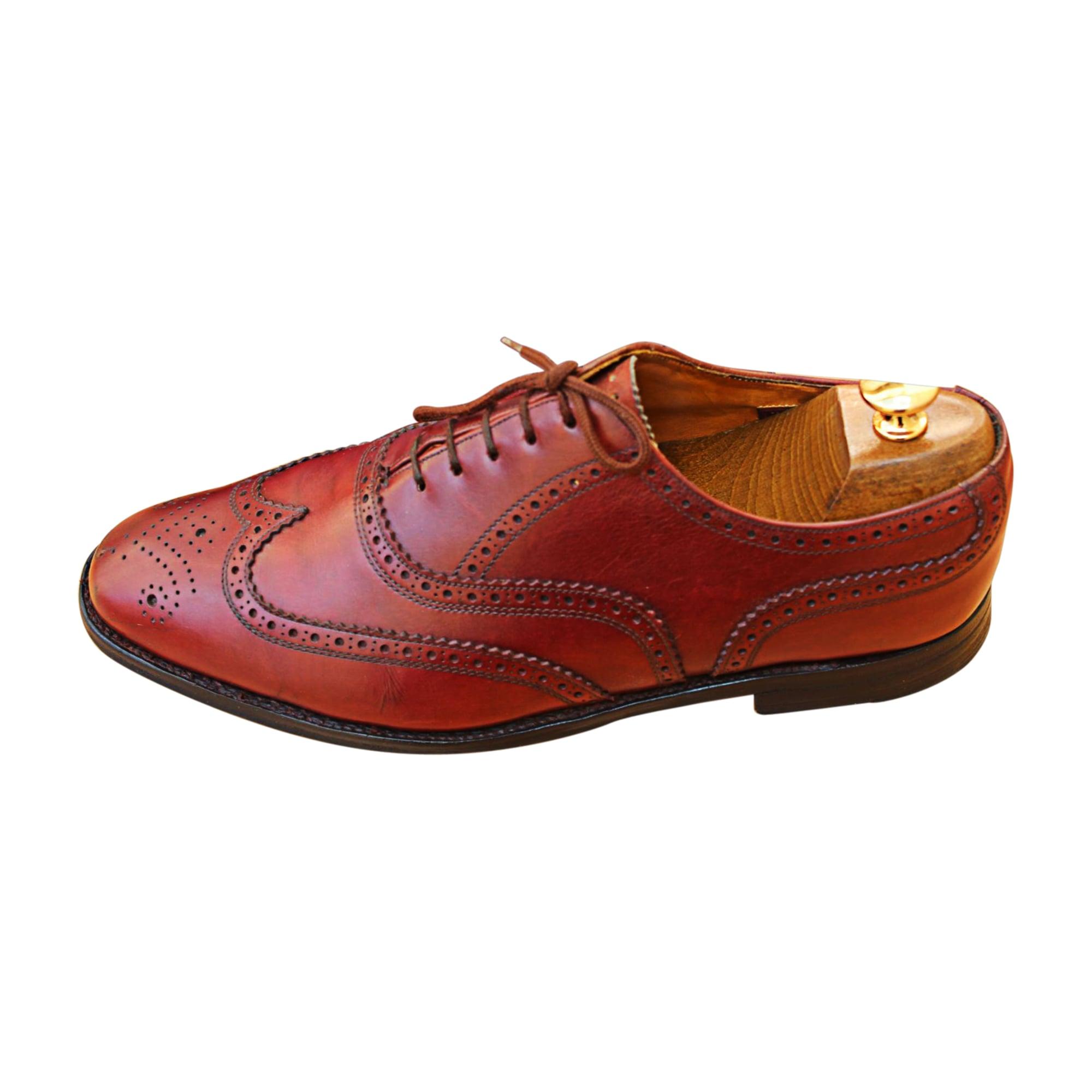 7832418 Chaussures Burberry Rouge À Lacets 43 OiPwkuTXZl